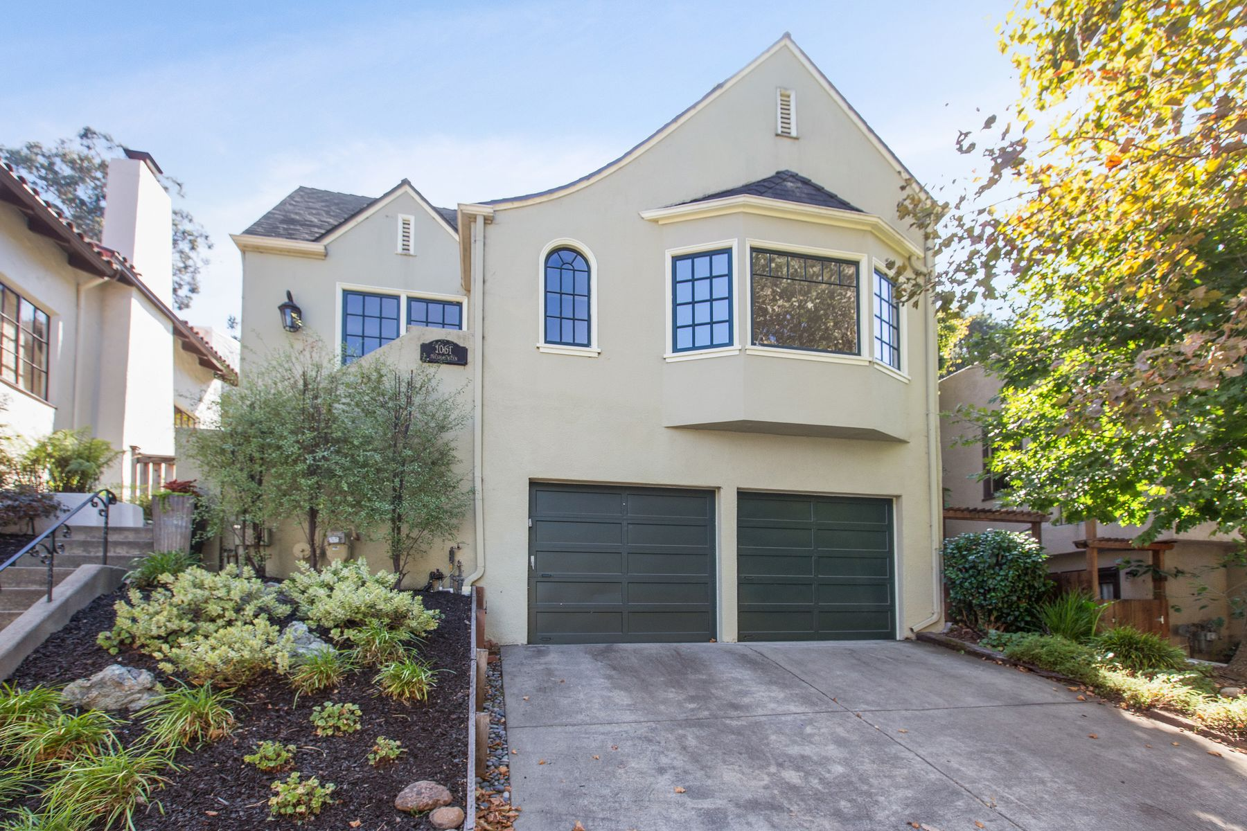 Single Family Homes for Sale at Updated Three Bedroom Traditional 1061 Trestle Glen Rd Oakland, California 94610 United States