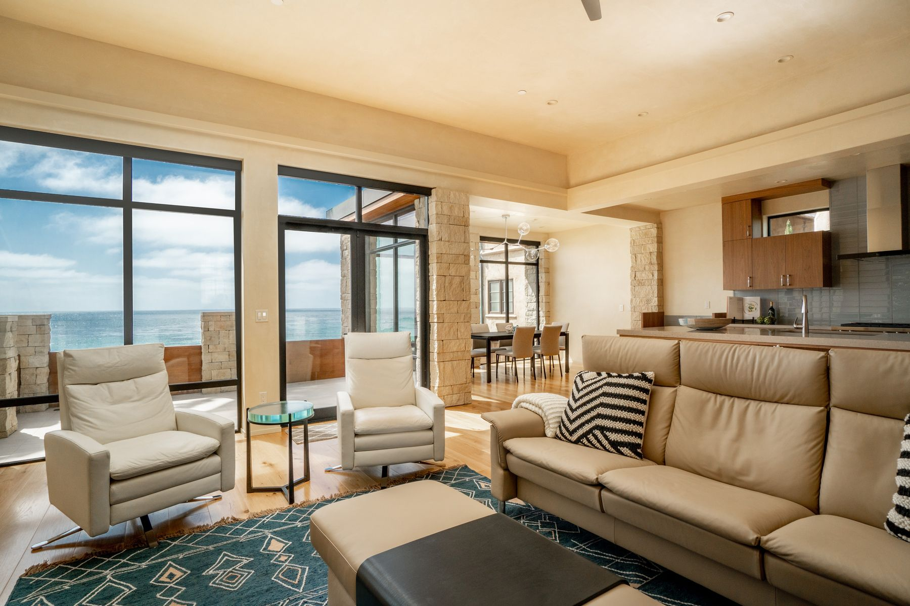 Single Family Homes for Sale at Modern Beach House on Scenic Road 0 Scenic 4 Ne Of 13th Carmel By The Sea, California 93921 United States