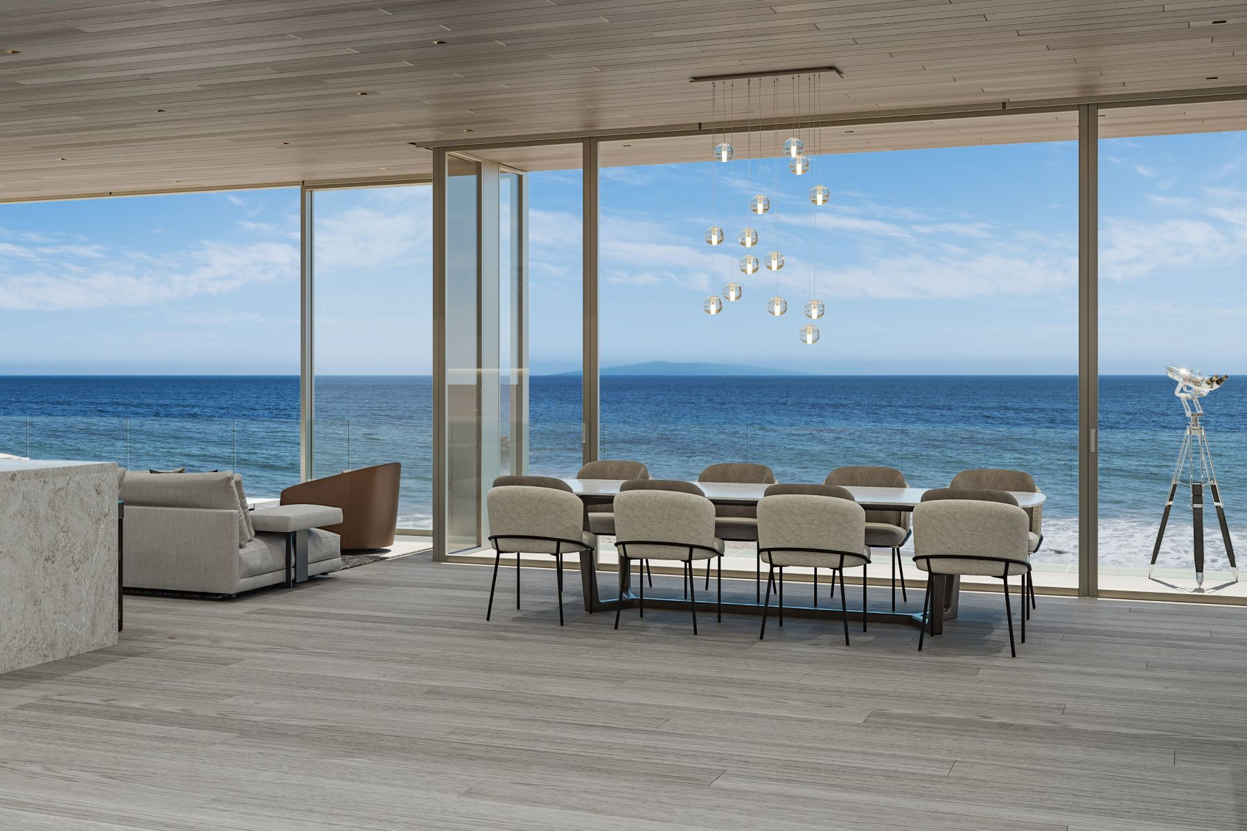 Single Family Homes for Sale at Brand New Malibu Oceanfront 24300 Malibu Road Malibu, California 90265 United States