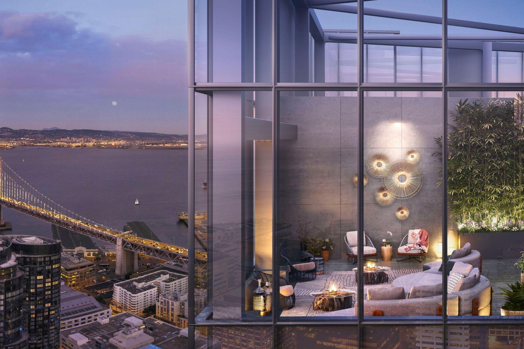 Condominiums por un Venta en The Avery Penthouse 488 Folsom St, Penthouse 5602 San Francisco, California 94105 Estados Unidos