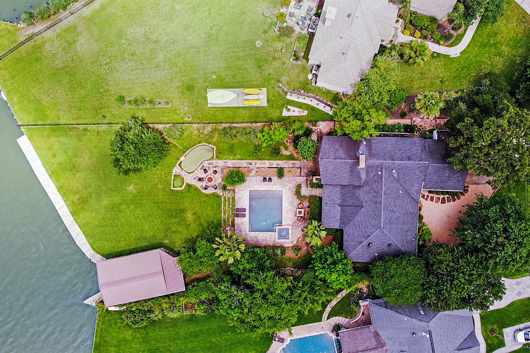 Single Family Homes for Active at 121 Cedar Lane Seabrook, Texas 77586 United States
