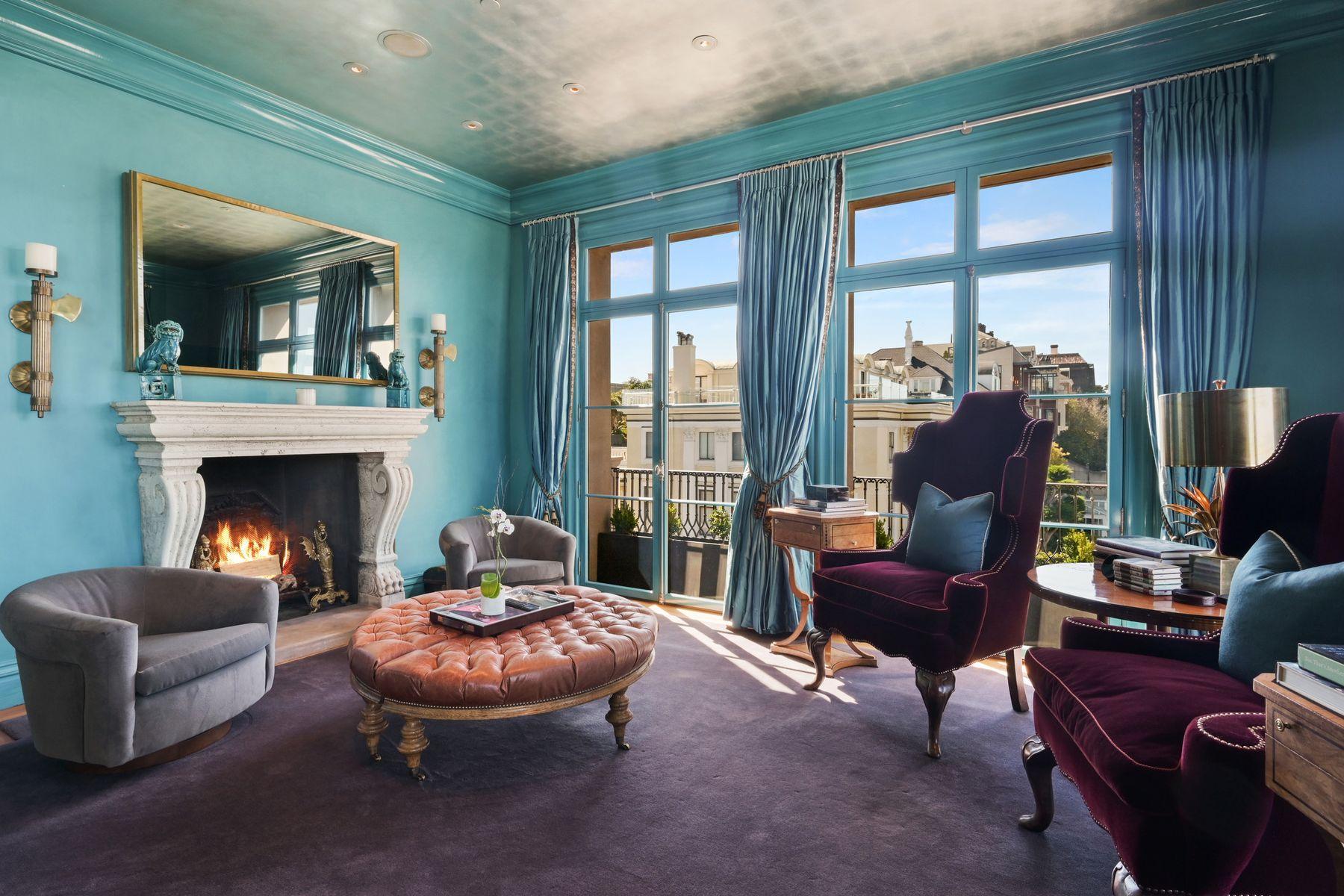 Additional photo for property listing at Bay View Mansion On Legendary Gold Coast 2799 Broadway 旧金山, 加利福尼亚州 94115 美国