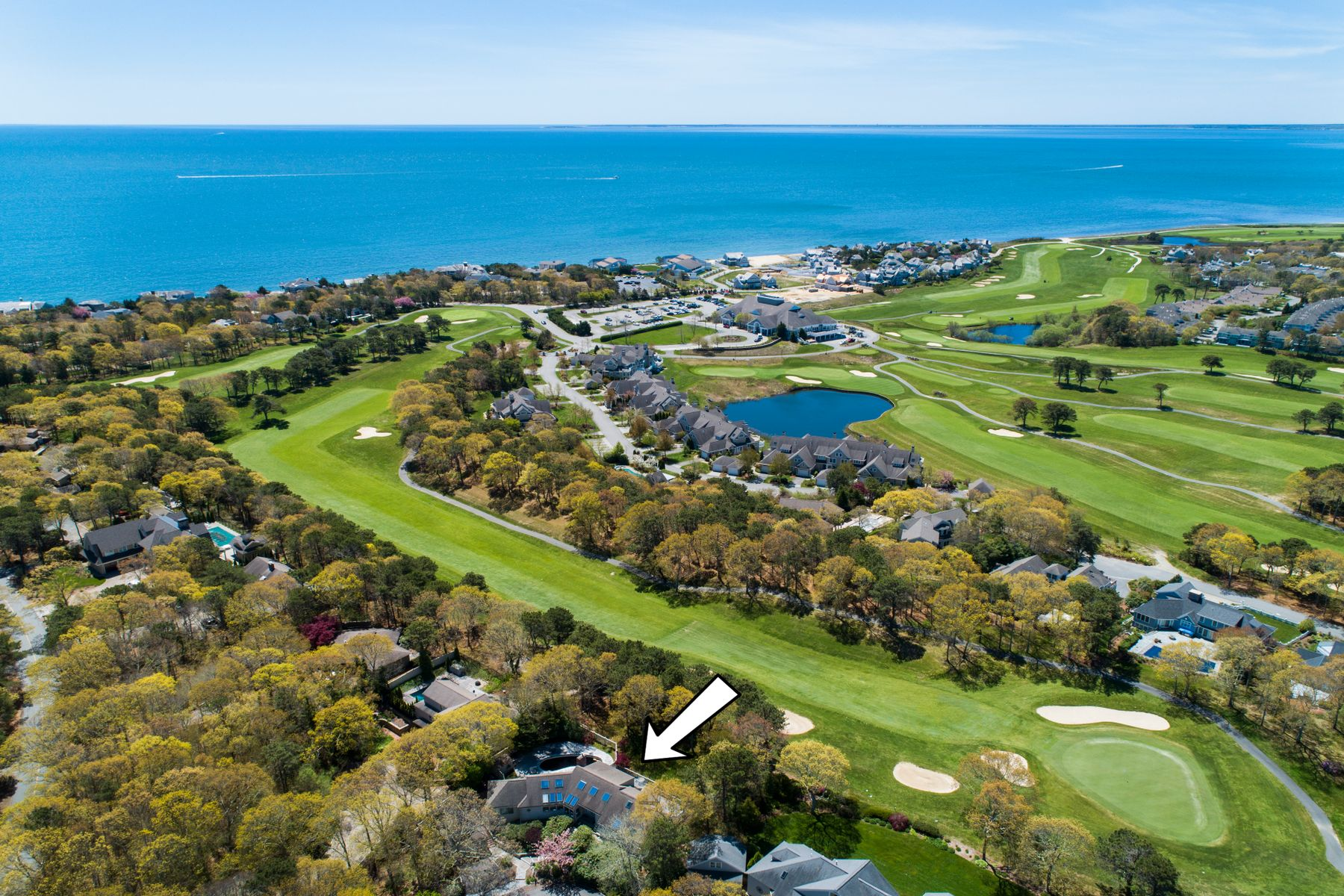 Single Family Homes 为 销售 在 Golf Frontage Ocean Course 10 Troon Place 席比义, 马萨诸塞州 02649 美国