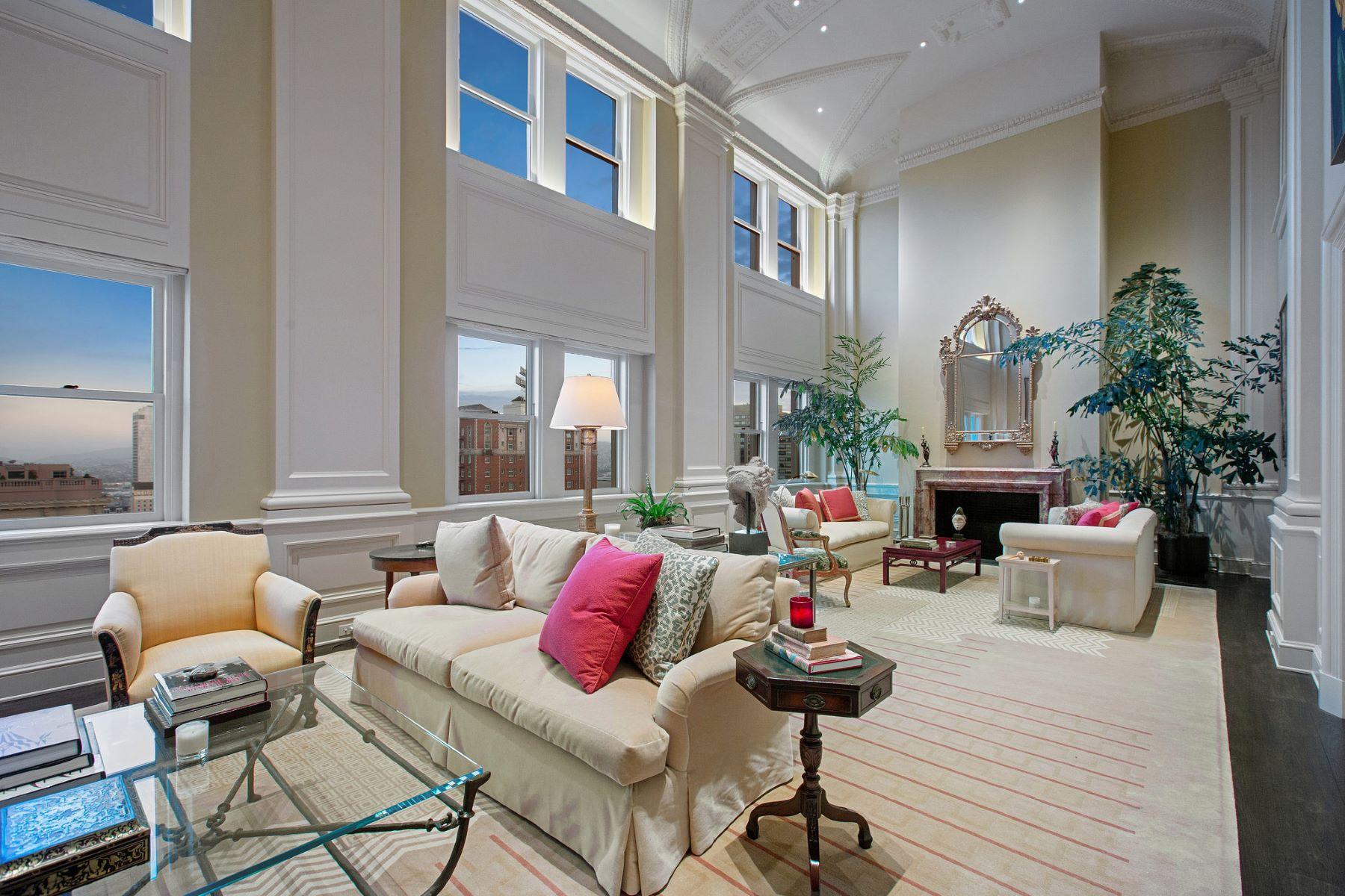 Apartments 为 销售 在 Penthouse in the Park Lane 1100 Sacramento St, #1002 旧金山, 加利福尼亚州 94108 美国