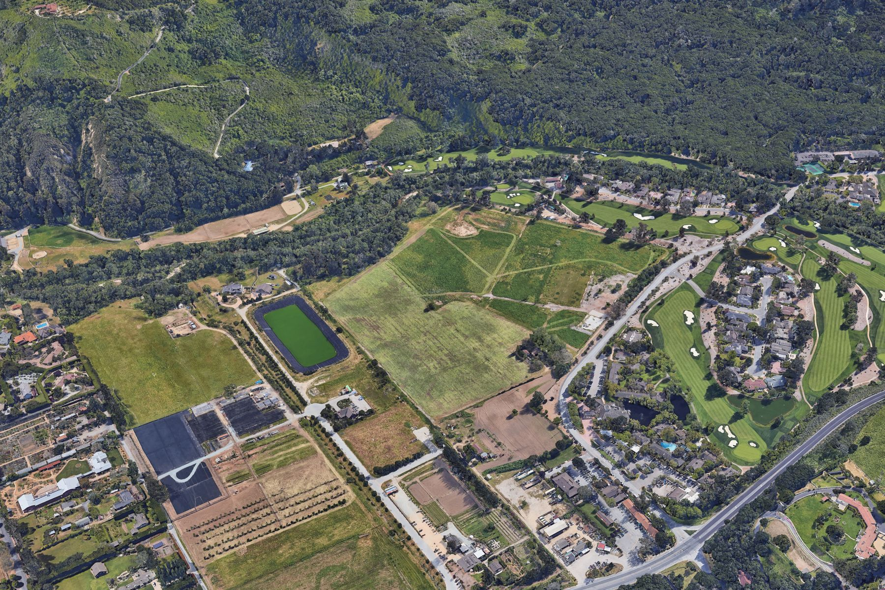 Land for Active at Historic Wolter's Farm 8100 Valley Greens Drive Carmel, California 93923 United States