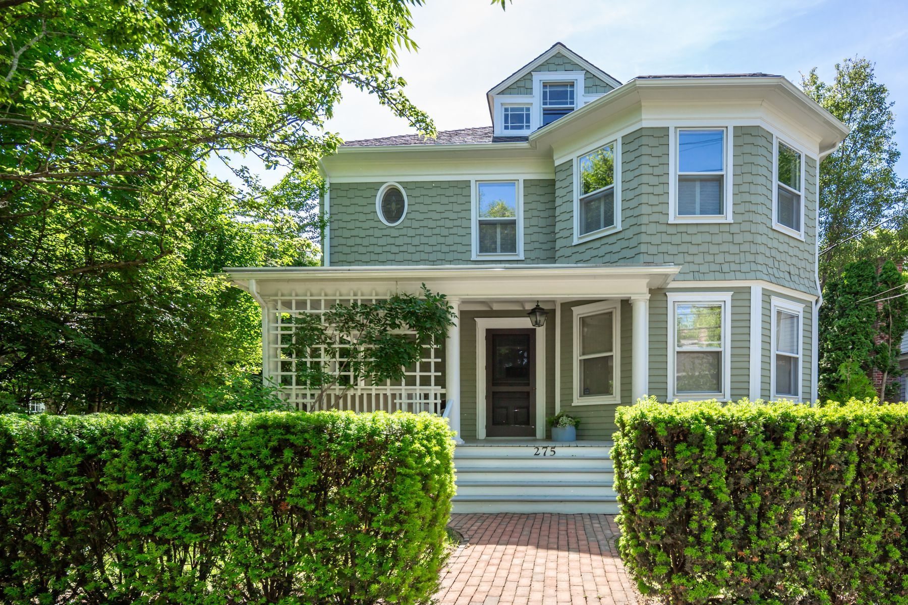 Single Family Homes for Active at Captains Row Queen Anne Revival 275 Main Street Sag Harbor, New York 11963 United States
