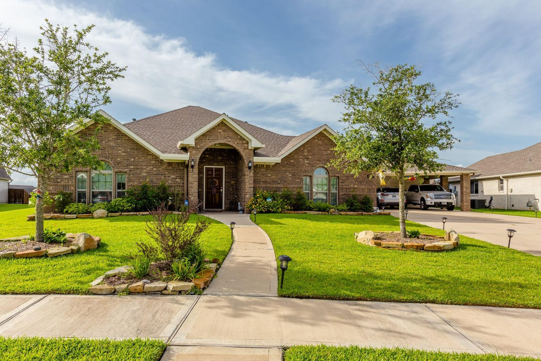 Single Family Homes for Sale at 6703 Hawkins Street Manvel, Texas 77578 United States