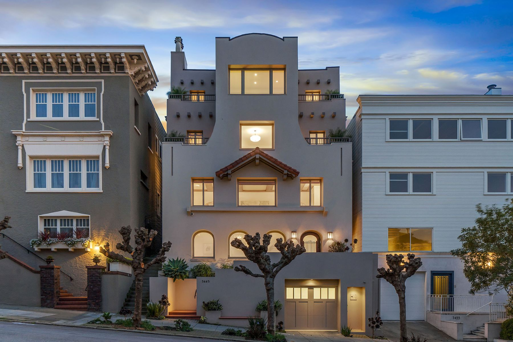 Single Family Homes for Sale at Historical Home in a Premier Location 3445 Washington St, San Francisco, California 94118 United States