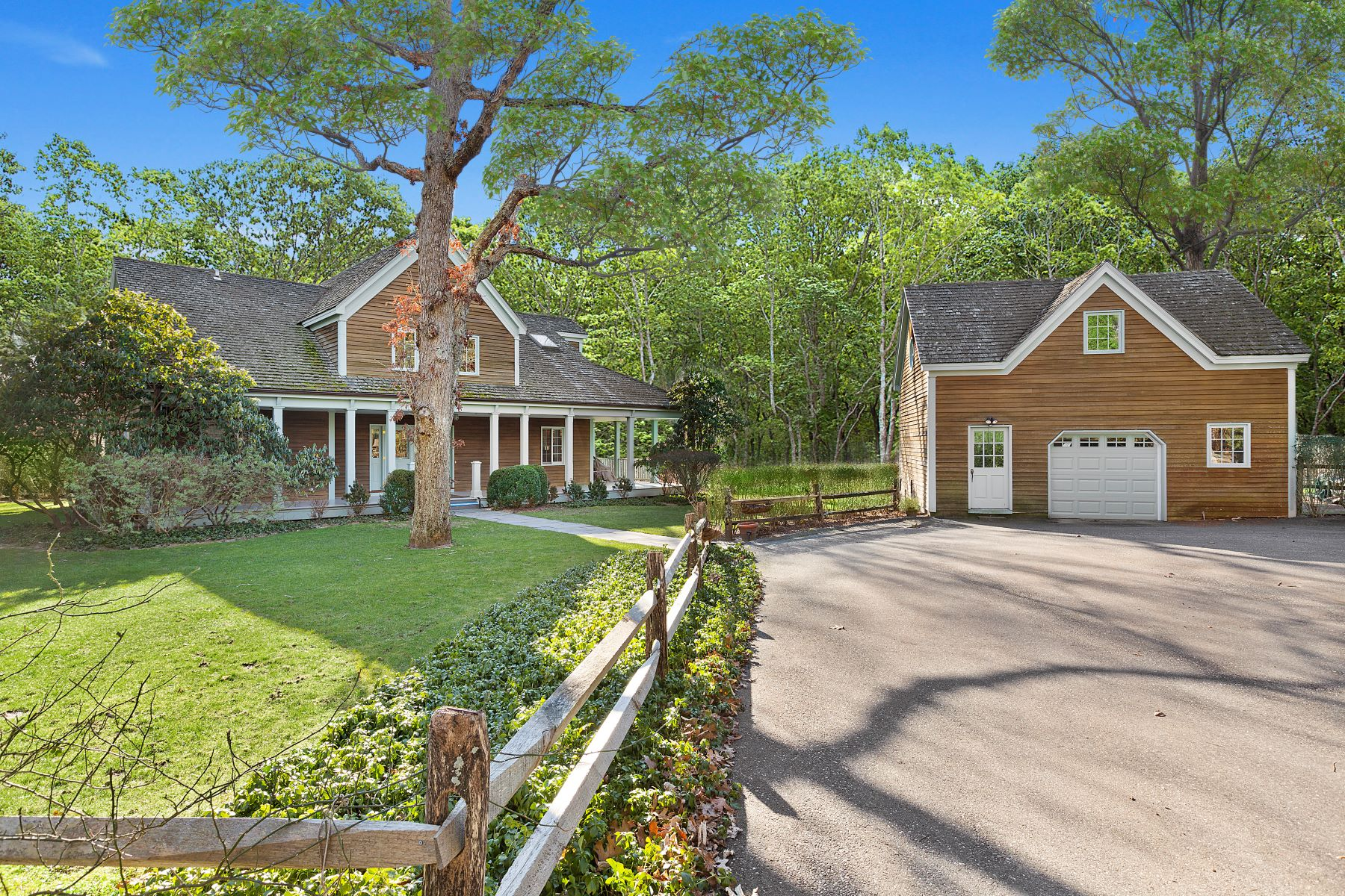 Single Family Homes for Sale at Amagansett Bell Estate Perfection 12 Dennistoun Drive Amagansett, New York 11930 United States