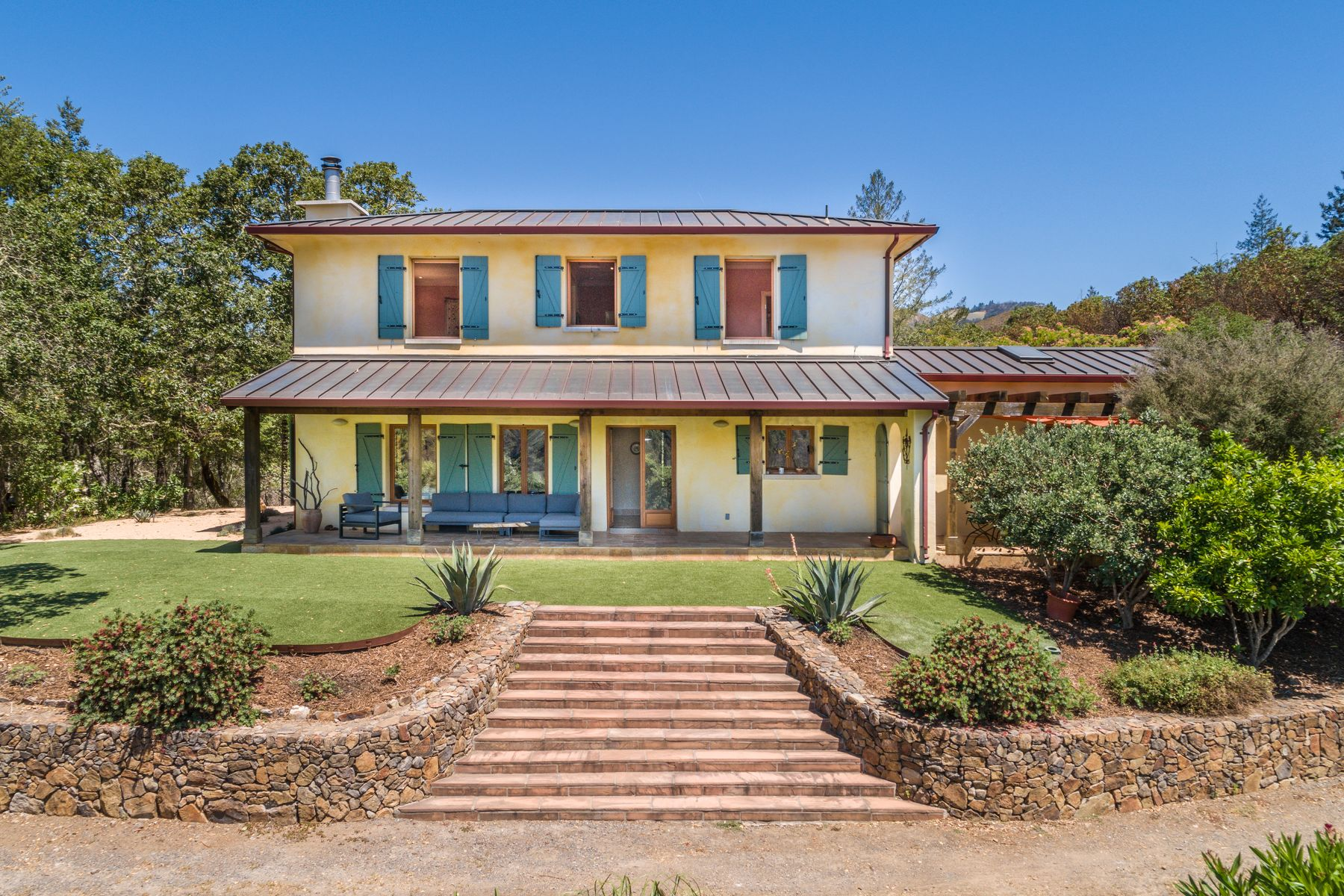 Single Family Homes for Sale at Under the Sonoma Sun 1150 Nuns Canyon Rd Glen Ellen, California 95442 United States