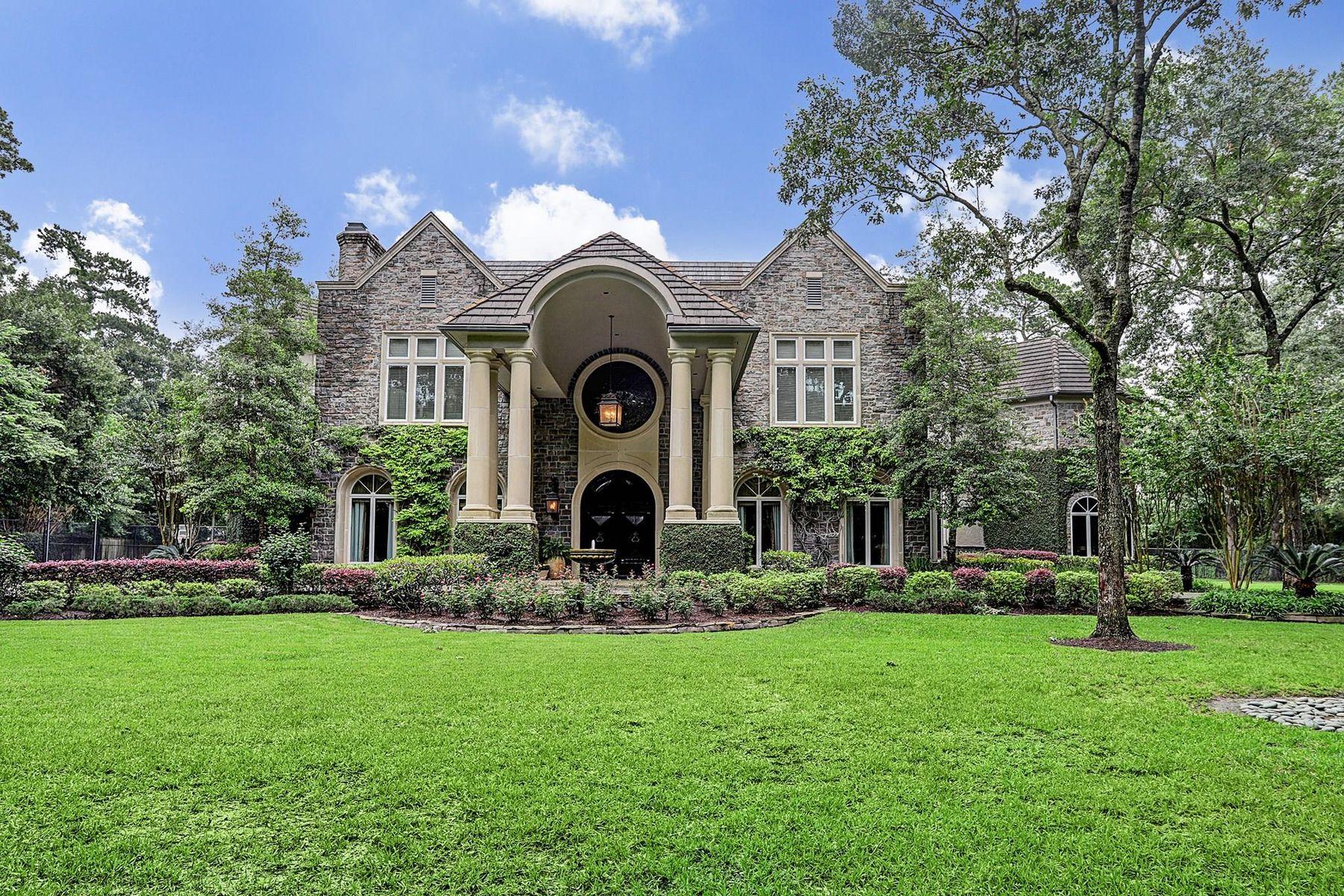 Single Family Homes for Sale at 9010 Sandringham Houston, Texas 77024 United States