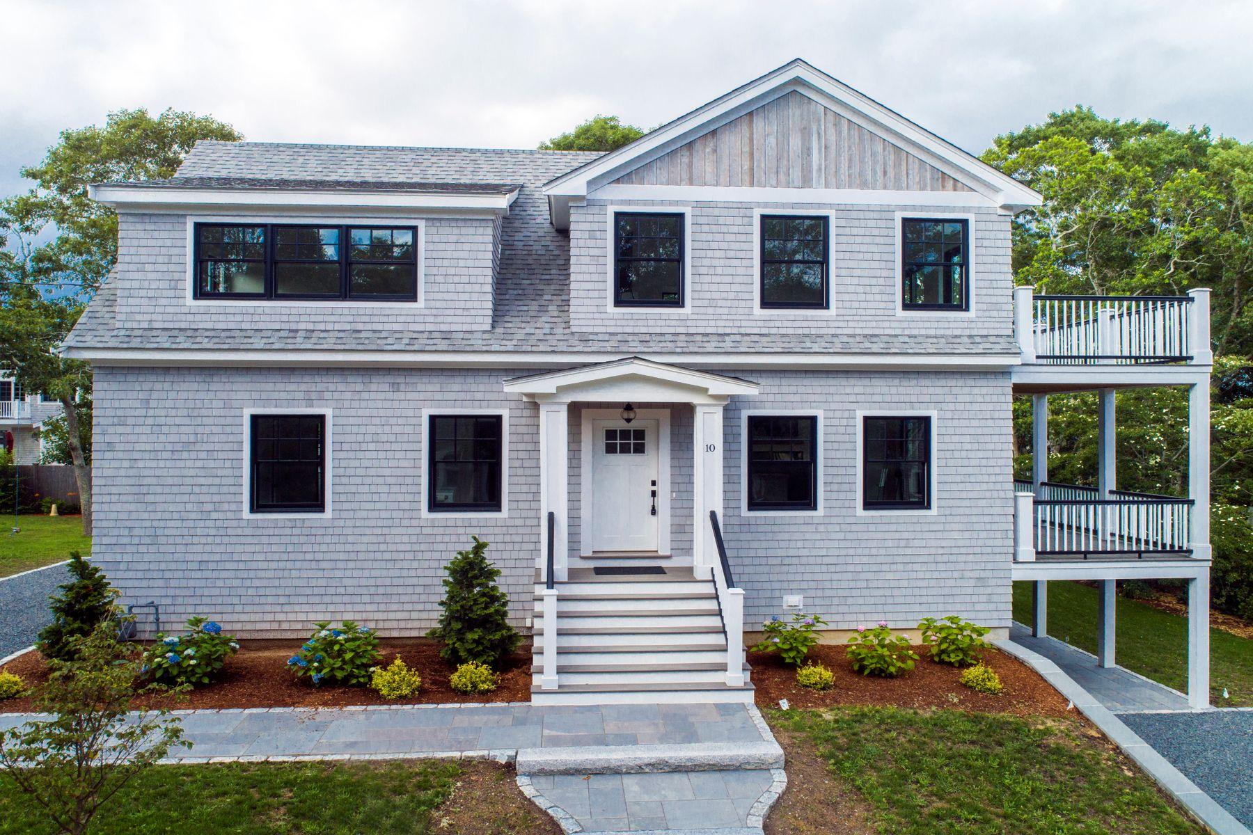 Single Family Homes for Active at Pond and Ocean Views in Popponessett 10 Menemsha Road Mashpee, Massachusetts 02649 United States