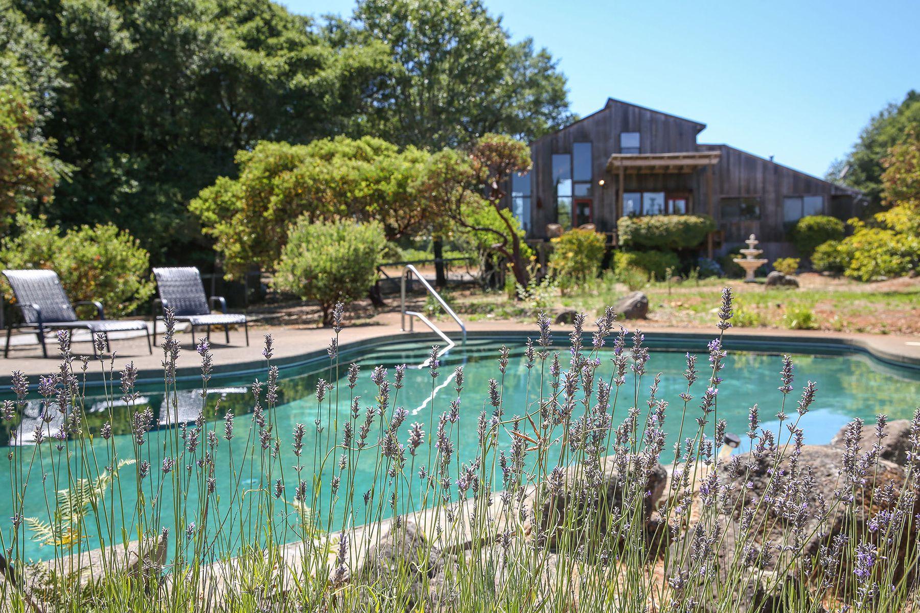 Multi-Family Homes por un Venta en Serene Dry Creek Valley Estate 1805 Dry Creek Rd Healdsburg, California 95448 Estados Unidos