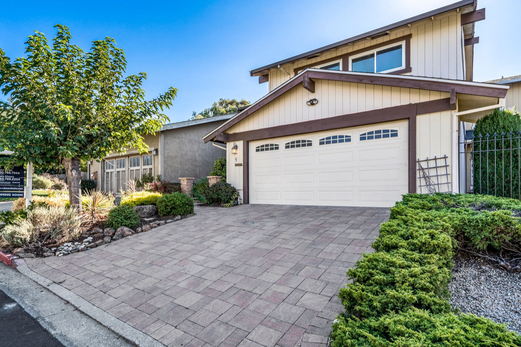 Single Family Homes for Sale at Belmont Beauty With Canyon Views 5 Ridgewood Ct Belmont, California 94002 United States