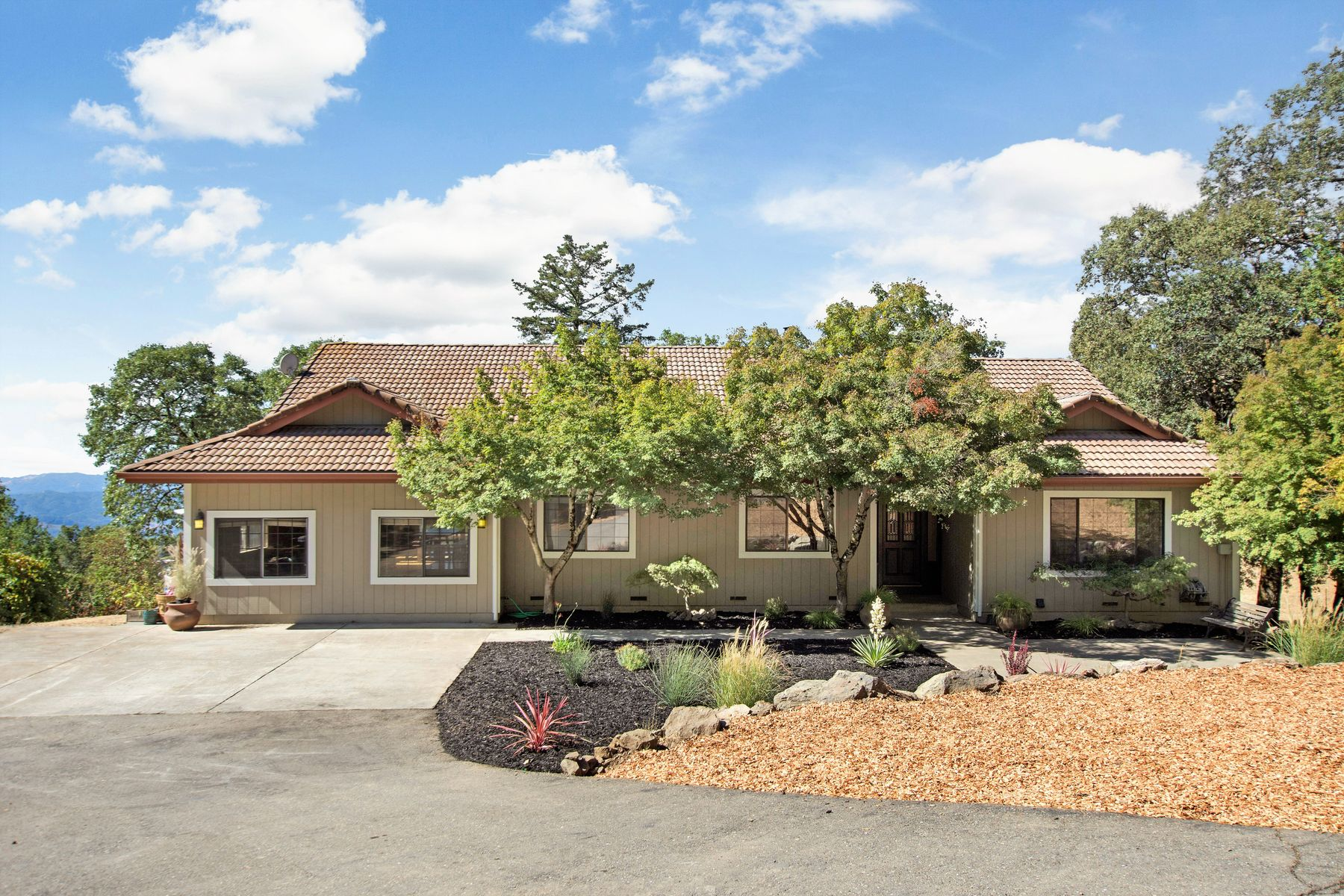 Single Family Homes for Sale at Remodeled Custom Home on 44± Acres 32000 Green Rd Cloverdale, California 95425 United States