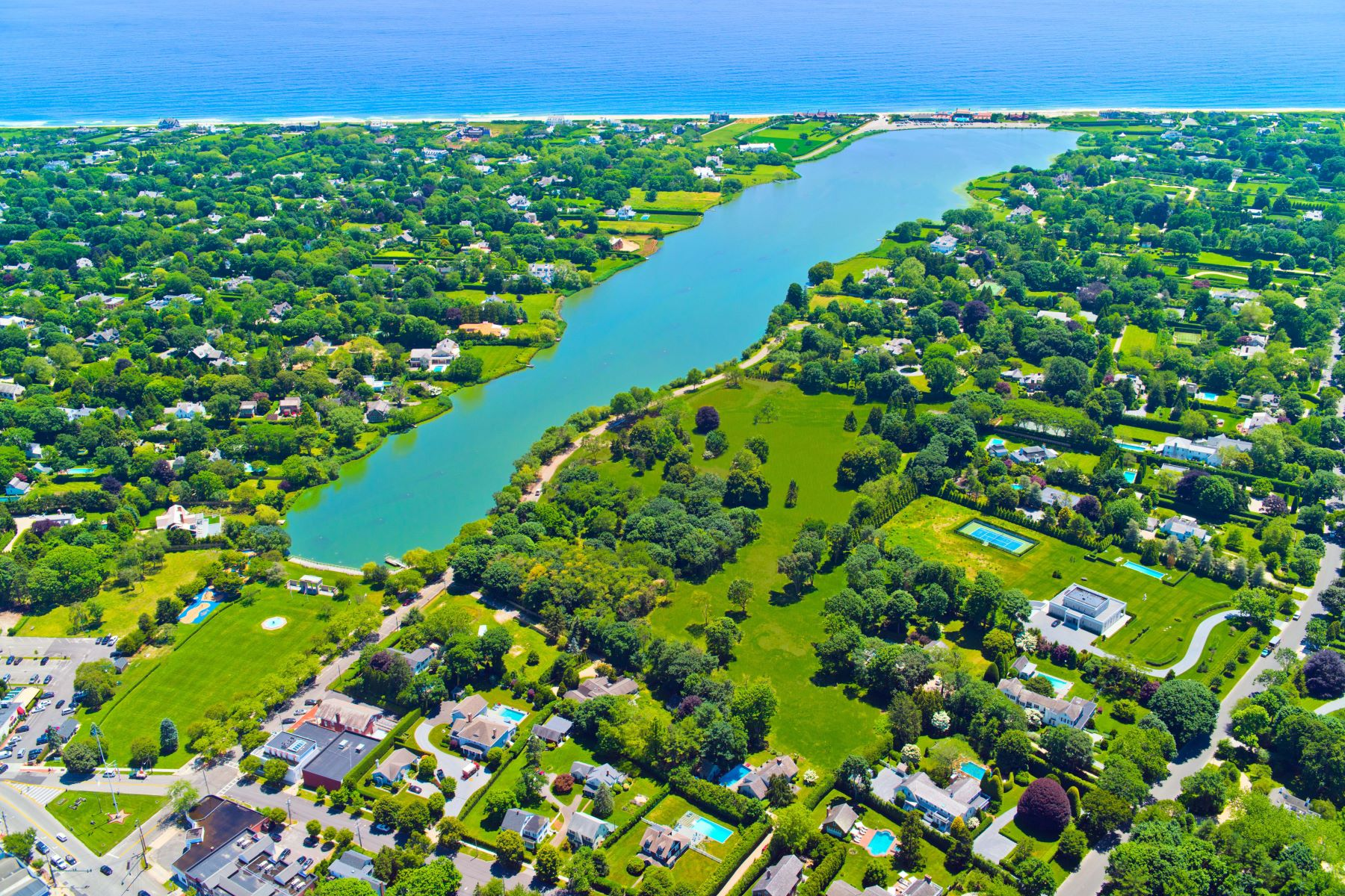 Single Family Homes for Sale at 137 & 153 Pond Lane 137 And 153 Pond Lane, Lots 4 And 5 Southampton, New York 11968 United States