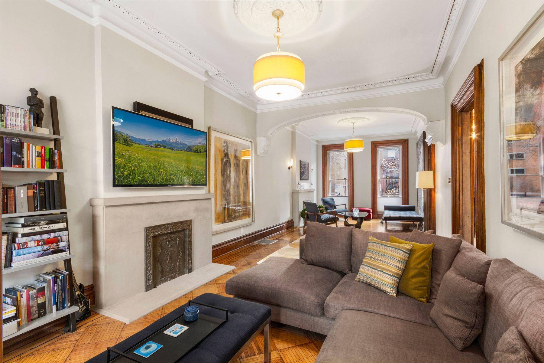 townhouses for Active at 322 Carlton Avenue Brooklyn, New York 11205 United States
