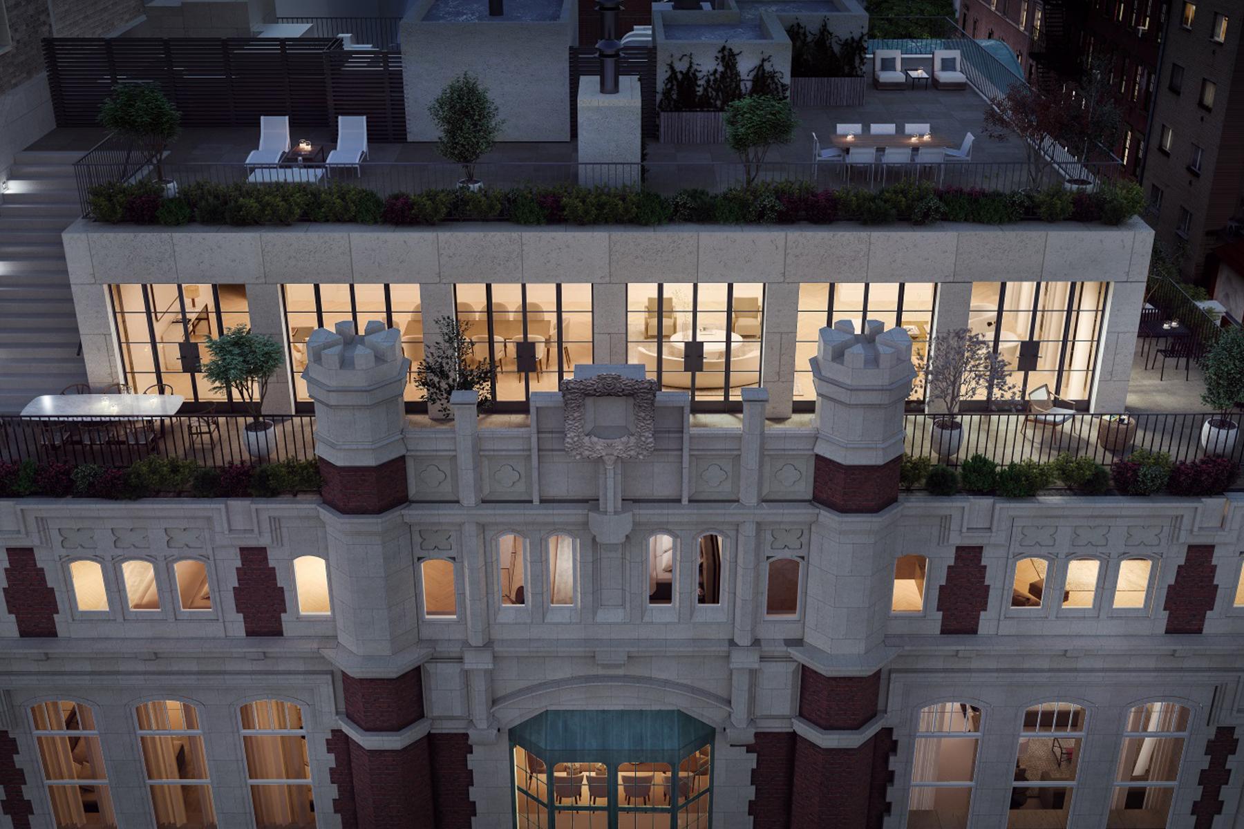 Condominiums 為 出售 在 The Terrace Penthouse 555 West End Avenue, PHA, 纽约, 纽约 10024 美國