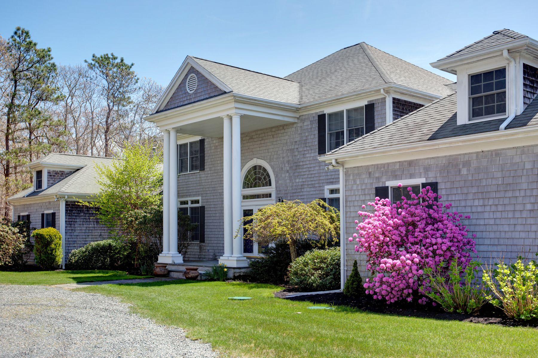 Single Family Homes 为 销售 在 Sippewissett Pondfront Estate 352 Sippewissett Road, 法尔茅斯, 马萨诸塞州 02540 美国
