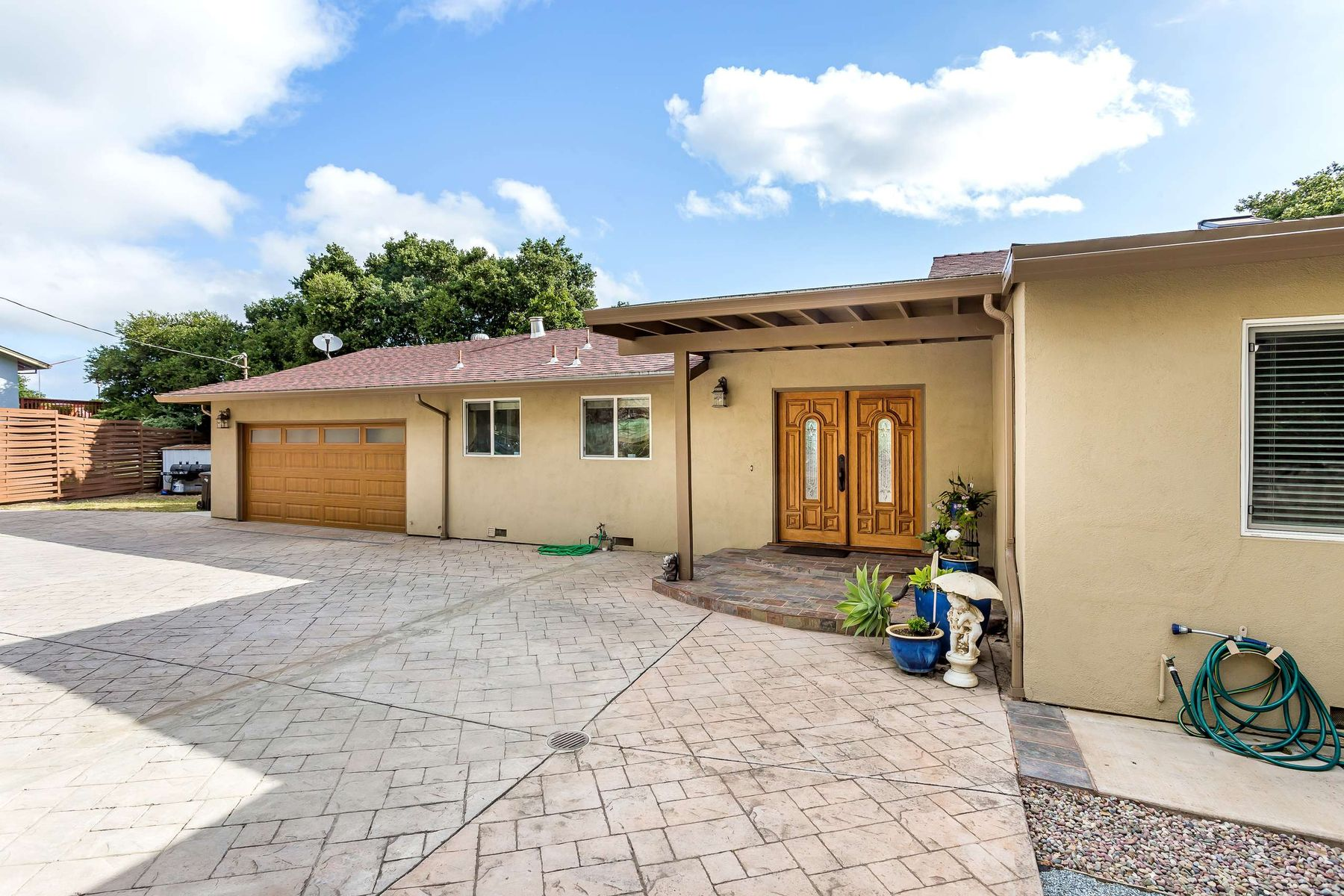 single family homes for Active at Elegant Rancher With Views and Privacy 1239 Talbryn Dr Belmont, California 94002 United States