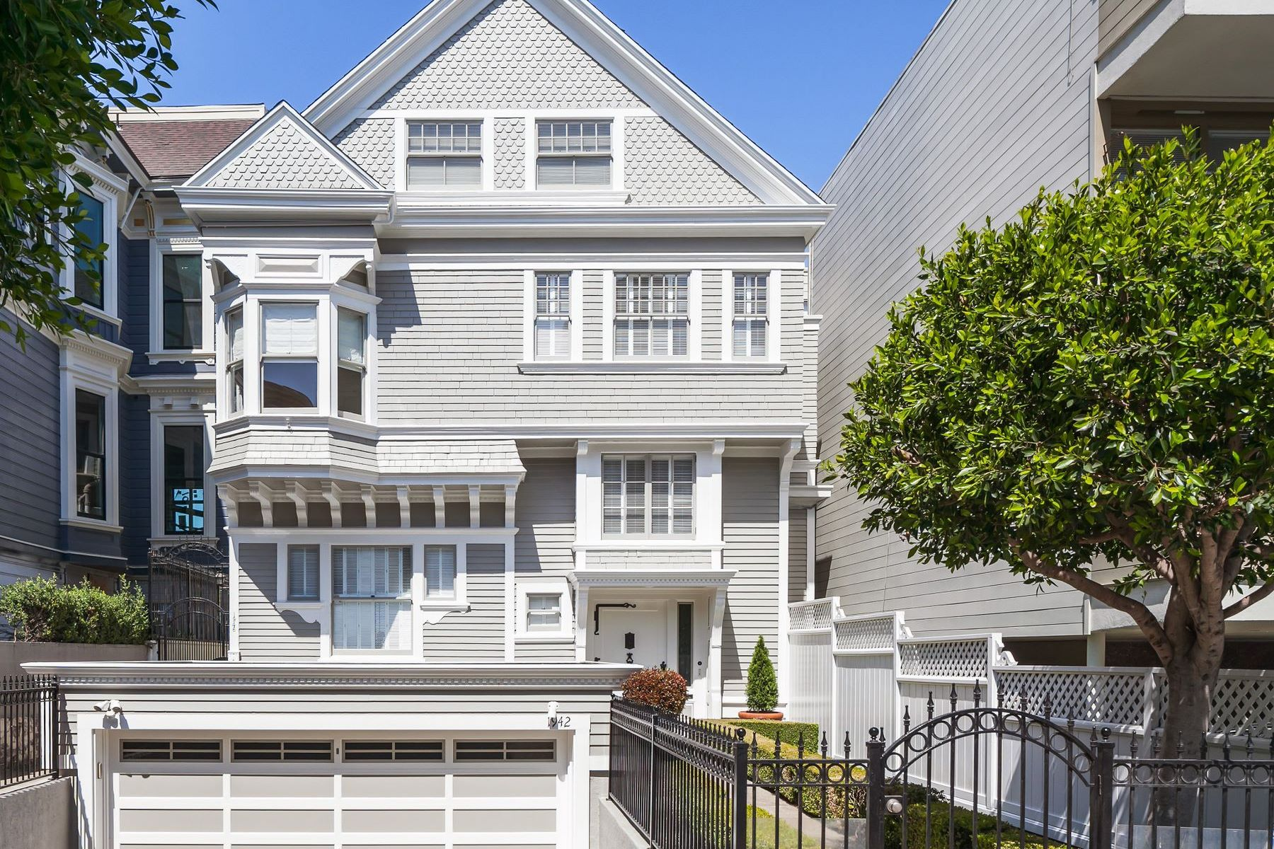 Single Family Homes for Sale at Pacific Heights Bay View Home 1942 Pacific Ave San Francisco, California 94109 United States