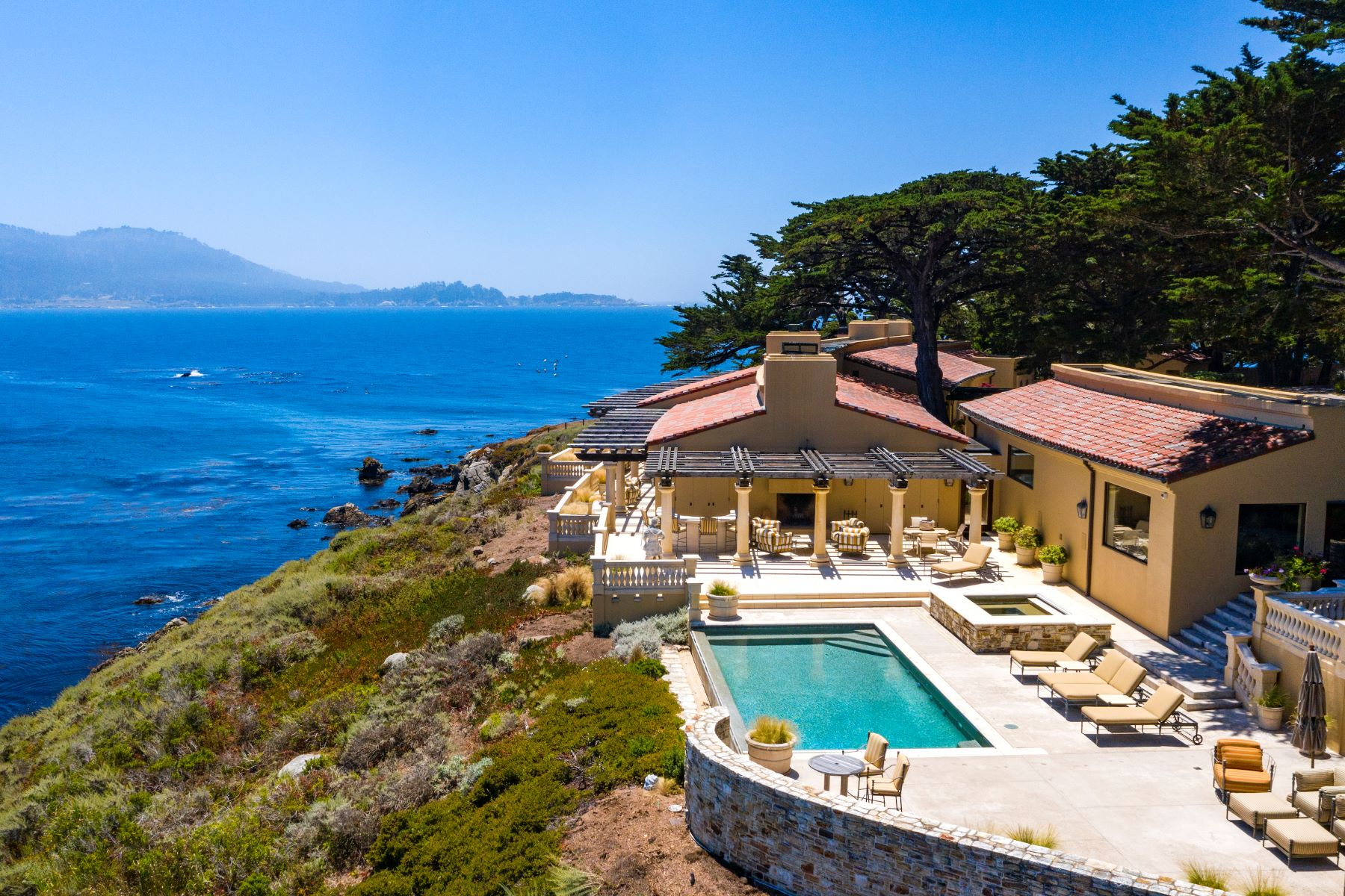 Single Family Homes のために 売買 アット The Point of Pebble Beach 3290 17 Mile Drive, Pebble Beach, カリフォルニア 93953 アメリカ