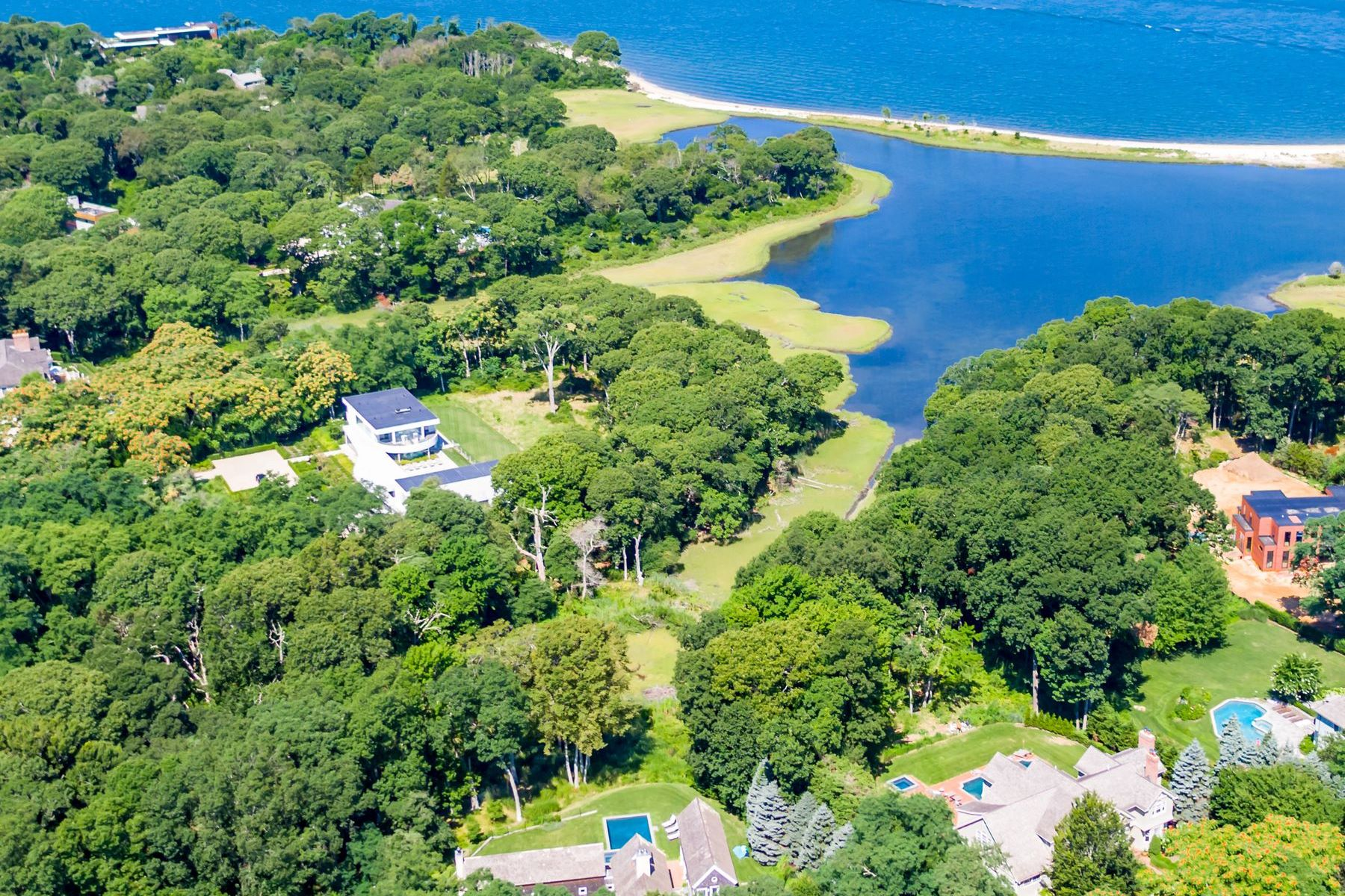 Single Family Homes for Active at SAG HARBOR WATERFRONT COMPOUND RETREAT 11 & 15 Ezekills Hollow Sag Harbor, New York 11963 United States