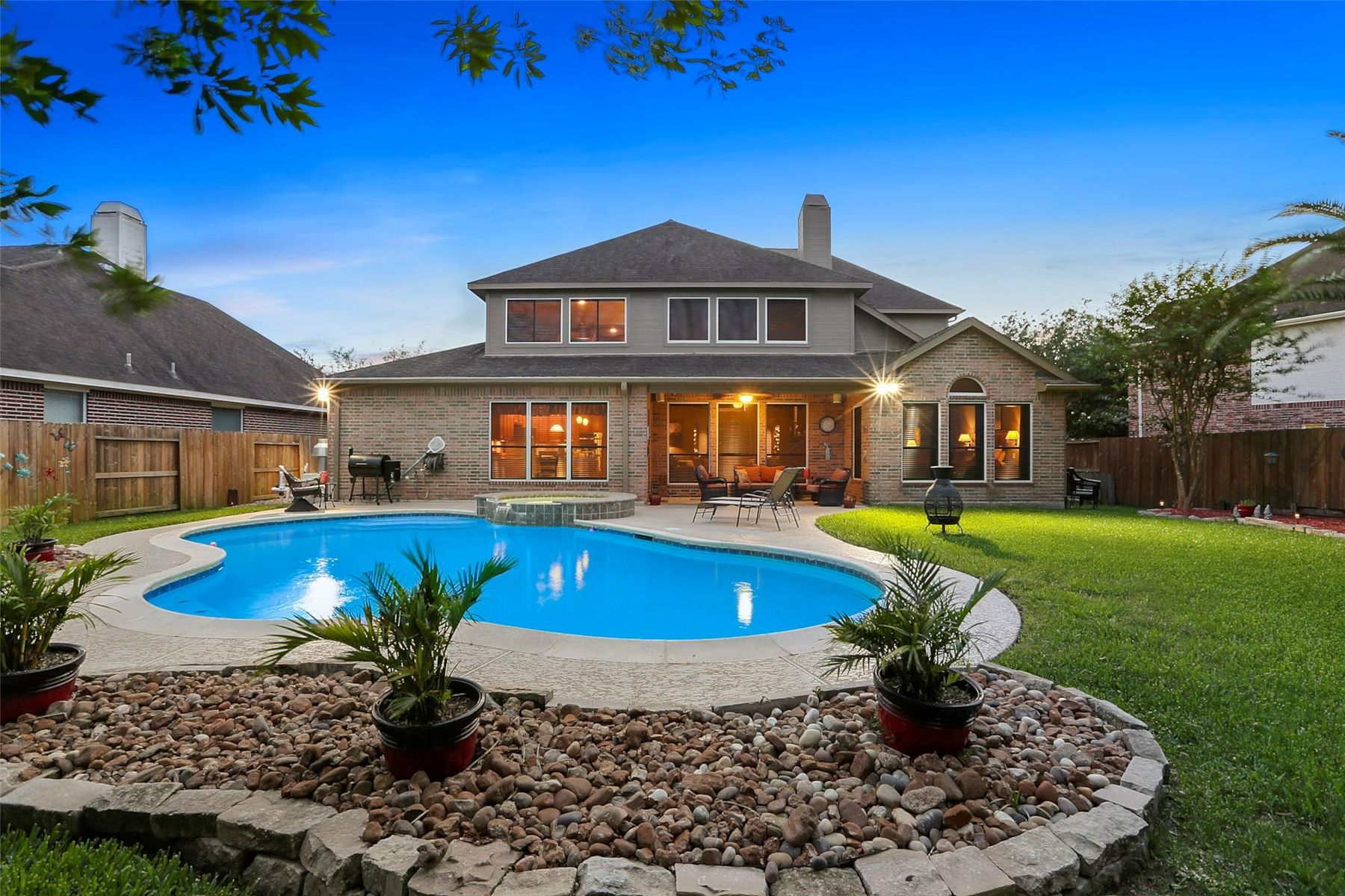 Single Family Homes for Sale at 14718 Golden Bough Lane Humble, Texas 77396 United States