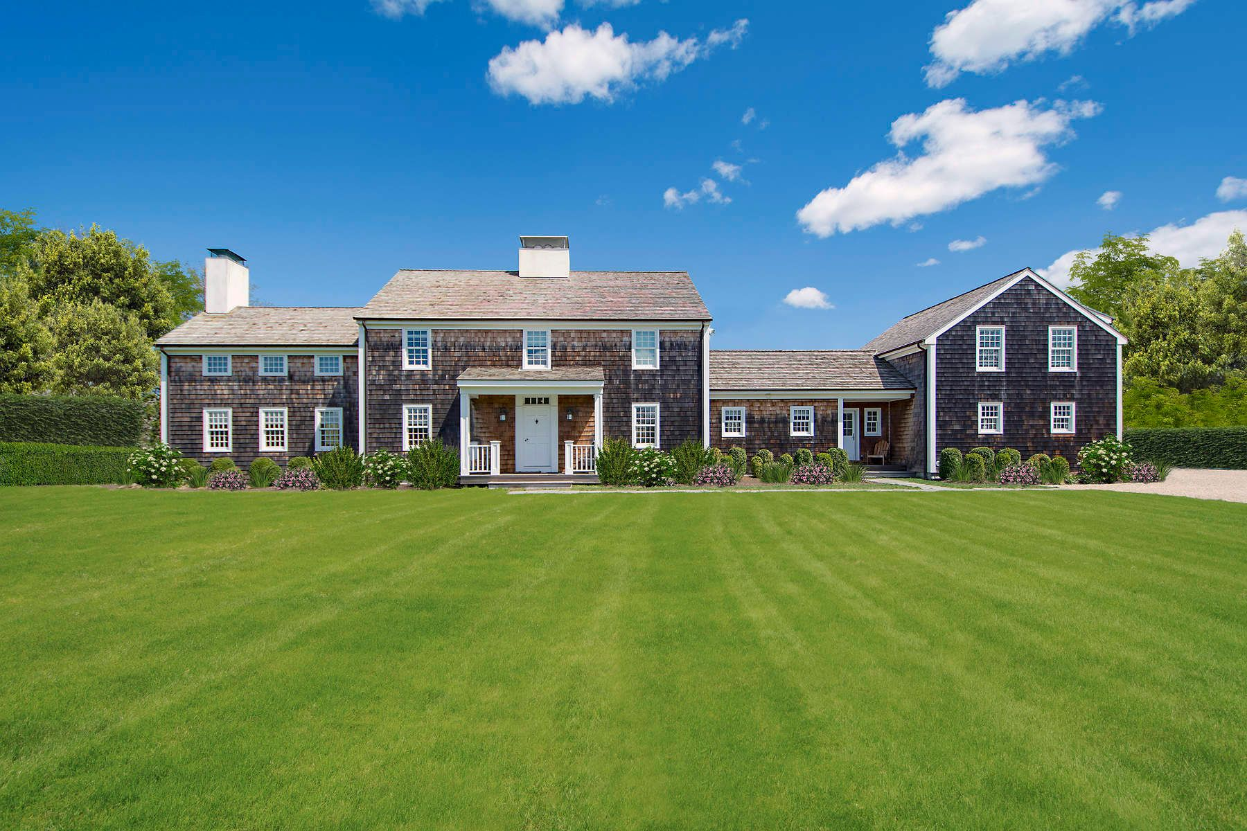 Single Family Homes for Sale at Classic Wainscott South w/ Pool & Tennis 15 Wainscott Hollow Road Wainscott, New York 11975 United States