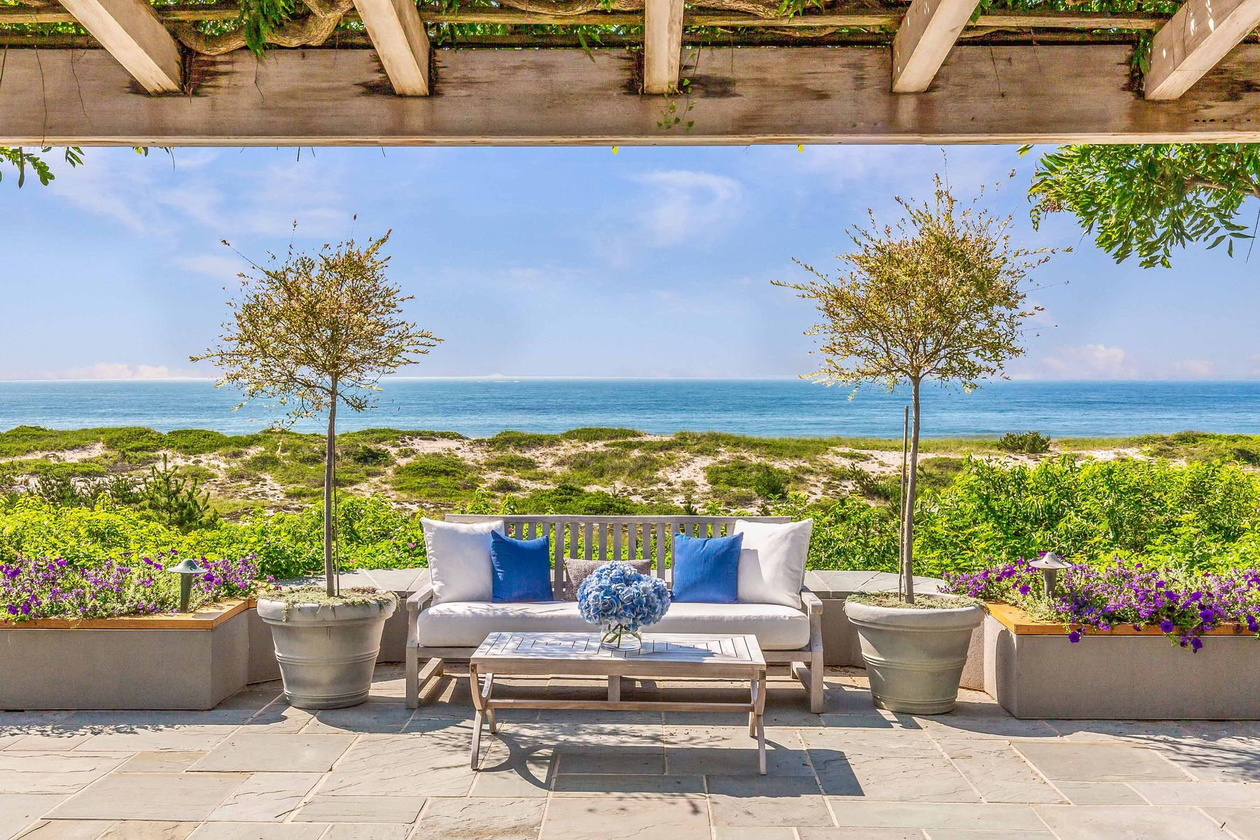 Single Family Homes for Sale at East Hampton Oceanfront Compound 32 Windmill Lane East Hampton, New York 11937 United States