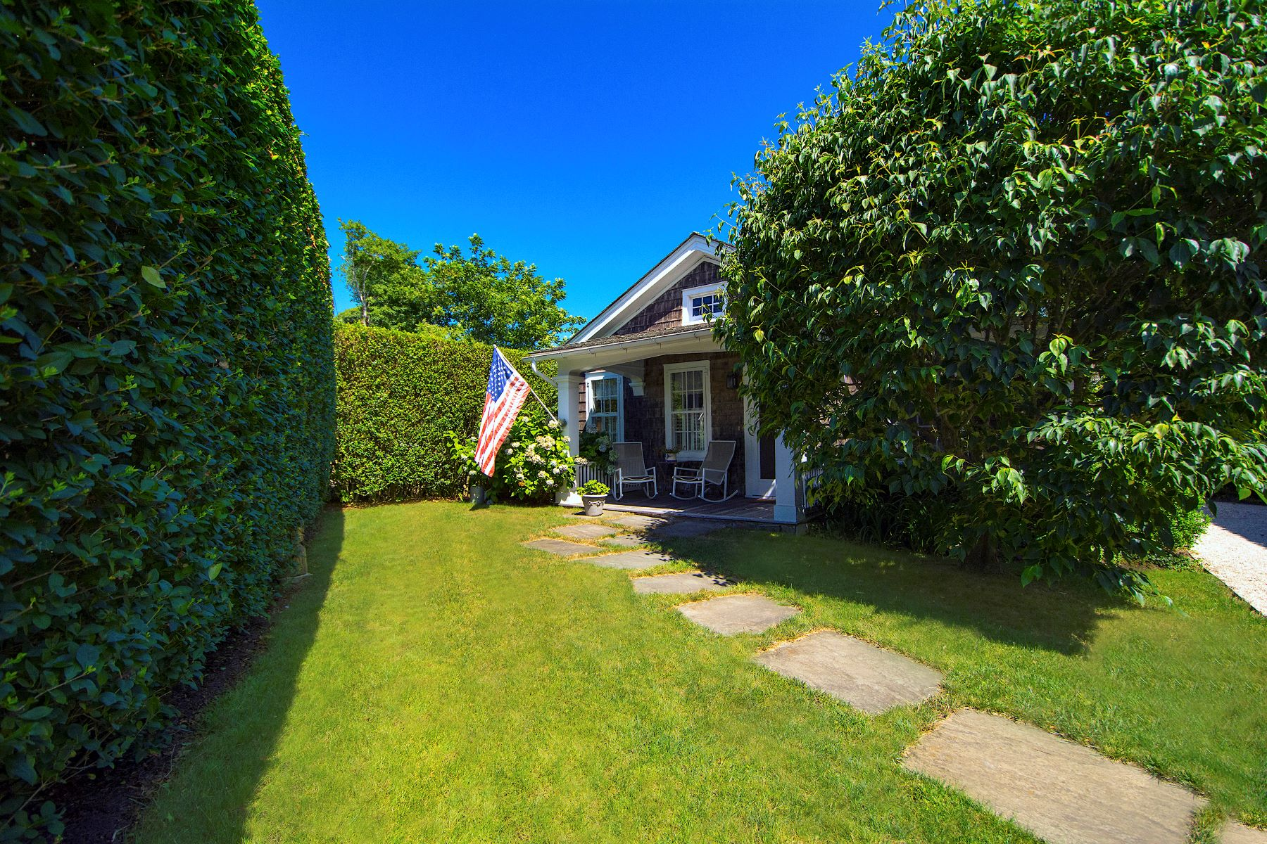Single Family Homes for Sale at Historic Cottage South of the Highway 58 Church Lane Bridgehampton, New York 11932 United States
