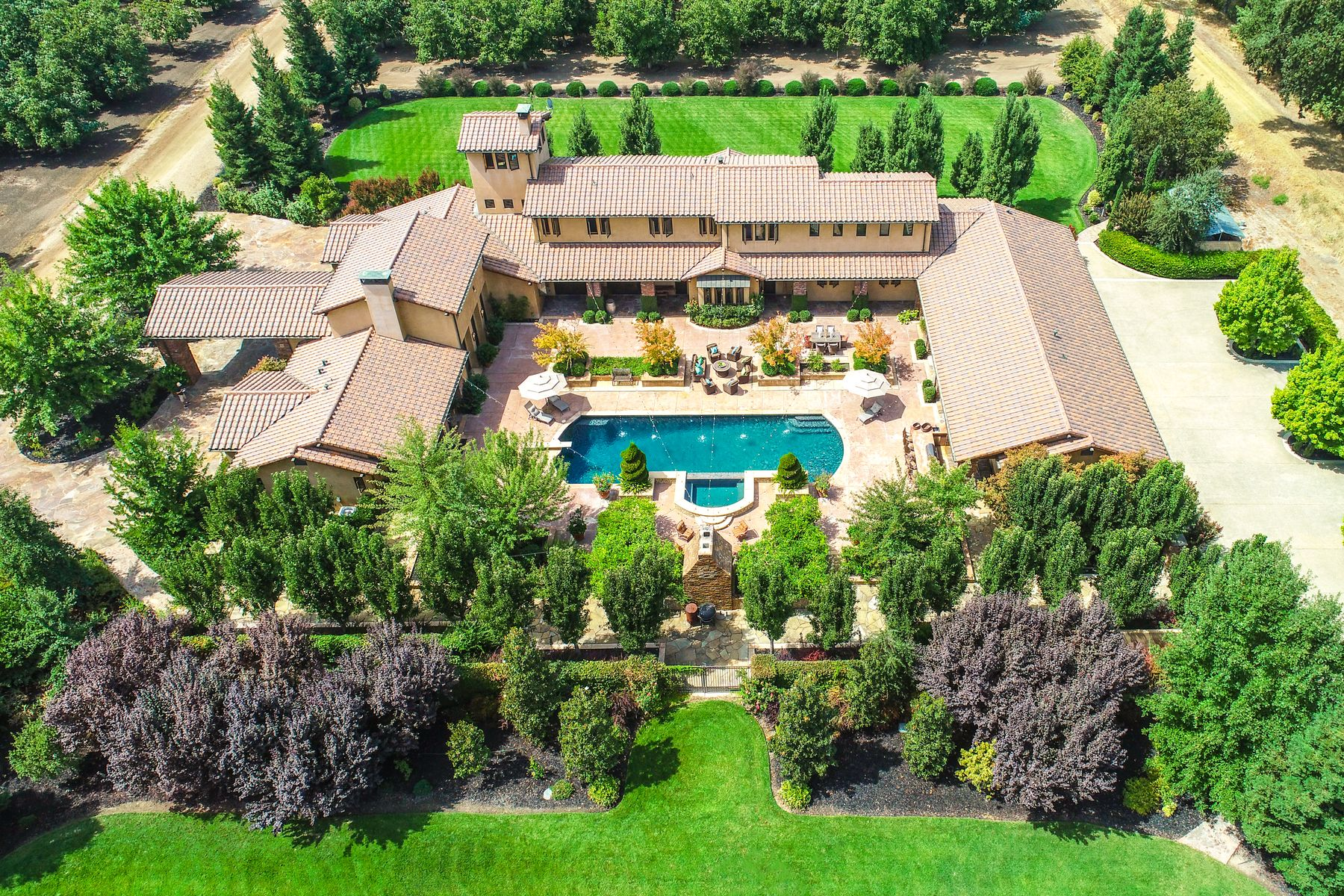 Single Family Homes for Sale at Luxury Country Estate 11039 N State Route Hwy 88 Stockton, California 95202 United States