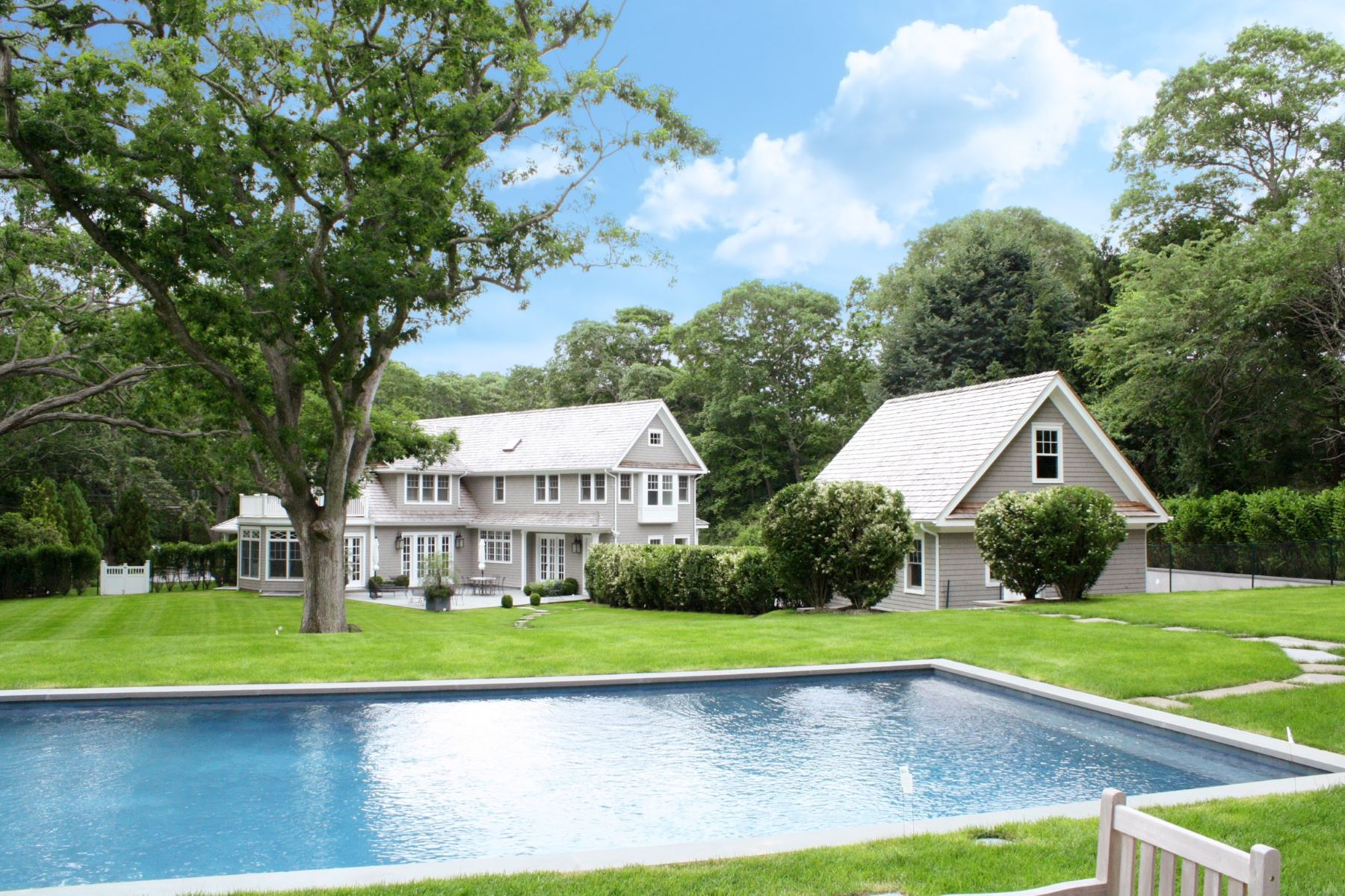 Single Family Homes for Sale at Dramatic Mini Estate 105 Cove Hollow Road East Hampton, New York 11937 United States