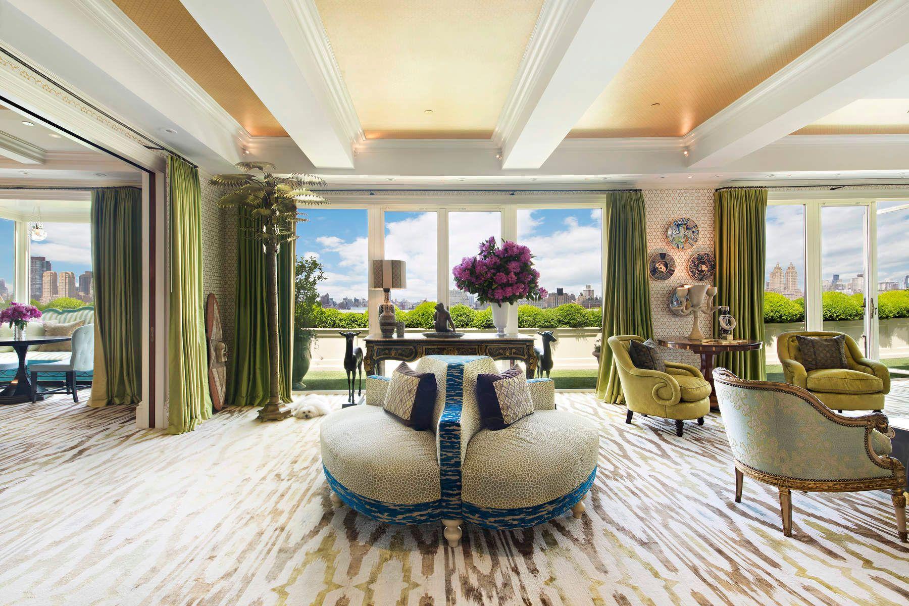 Apartments 為 出售 在 Stanhope Penthouse 995 Fifth Avenue PH, 纽约, 纽约 10028 美國