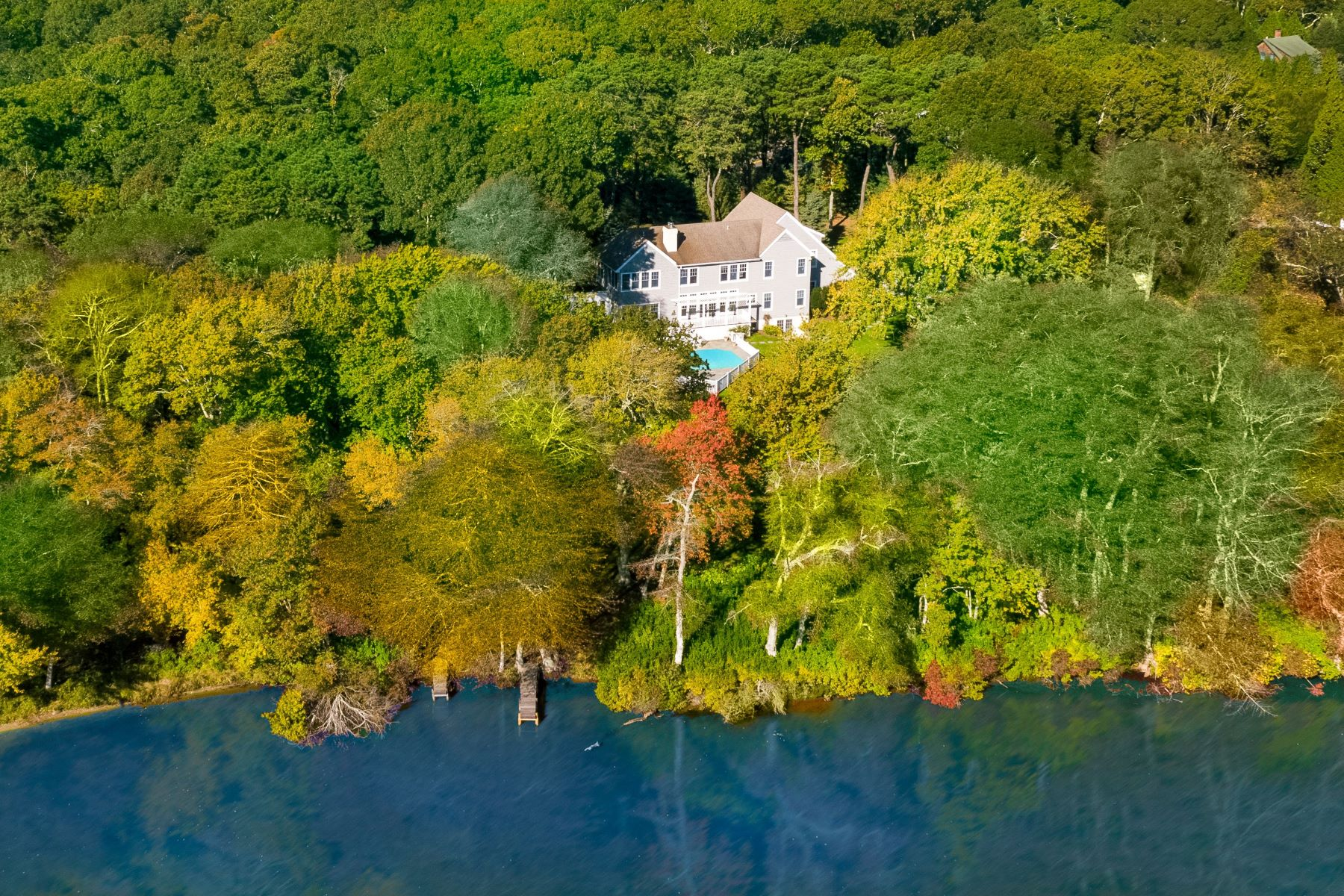 Single Family Homes for Sale at Waterfront In Water Mill 403 Head Of Pond Road Water Mill, New York 11976 United States