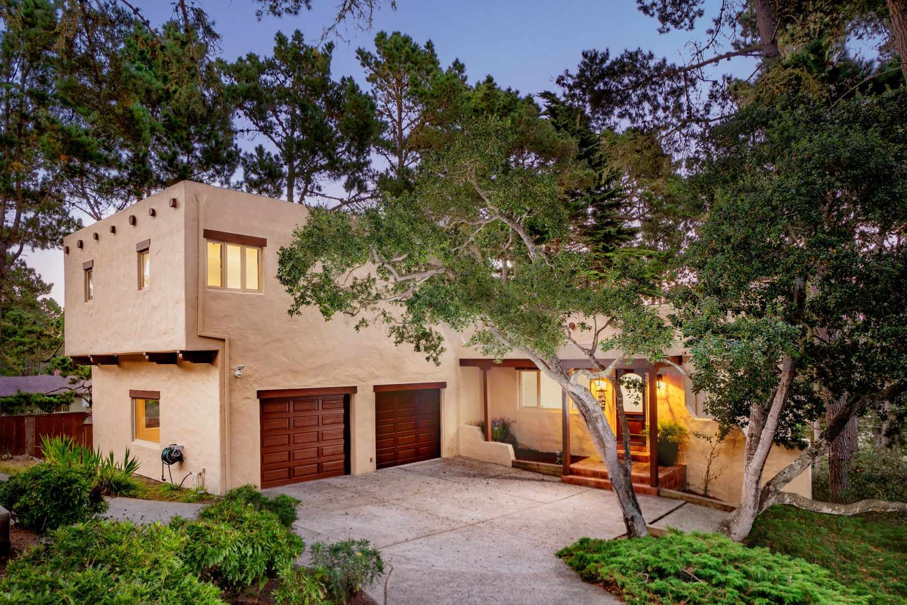 Single Family Homes for Sale at View of the Bay with Southwest Charm 2 Windsor Rise Monterey, California 93940 United States