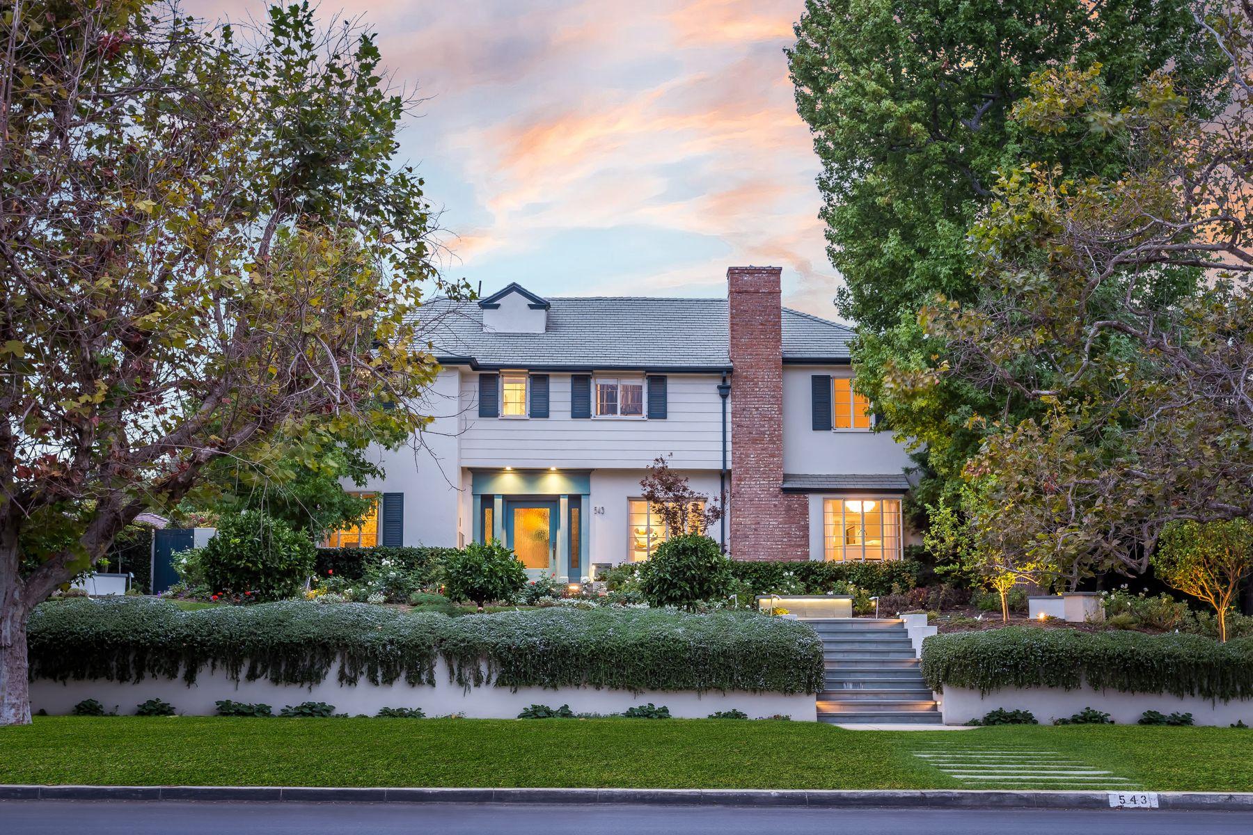 Single Family Homes 为 销售 在 543 Moreno Avenue 洛杉矶, 加利福尼亚州 90049 美国
