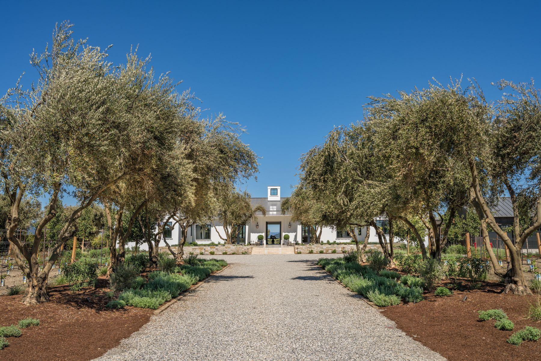 Single Family Homes 为 销售 在 Stunning Napa Valley Compound 4183 Big Ranch Rd 纳帕, 加利福尼亚州 94558 美国