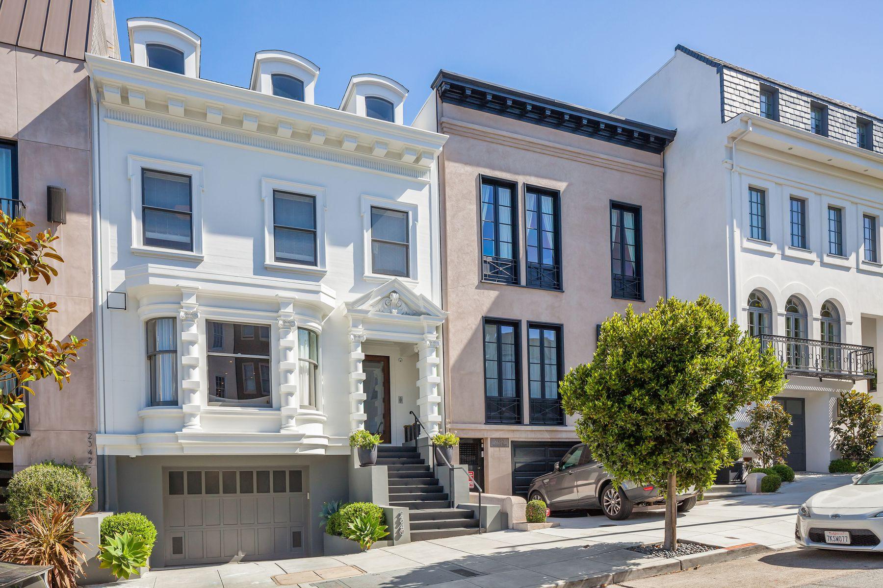 Single Family Homes for Sale at Pacific Heights Contemporary Chic San Francisco, California 94115 United States