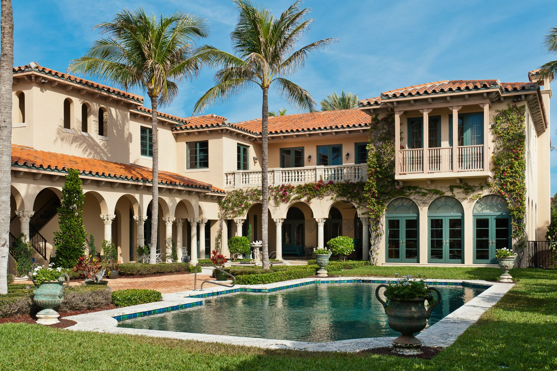 Single Family Homes for Sale at Unsurpassed Elegance 110 Clarendon Ave Palm Beach, Florida 33480 United States
