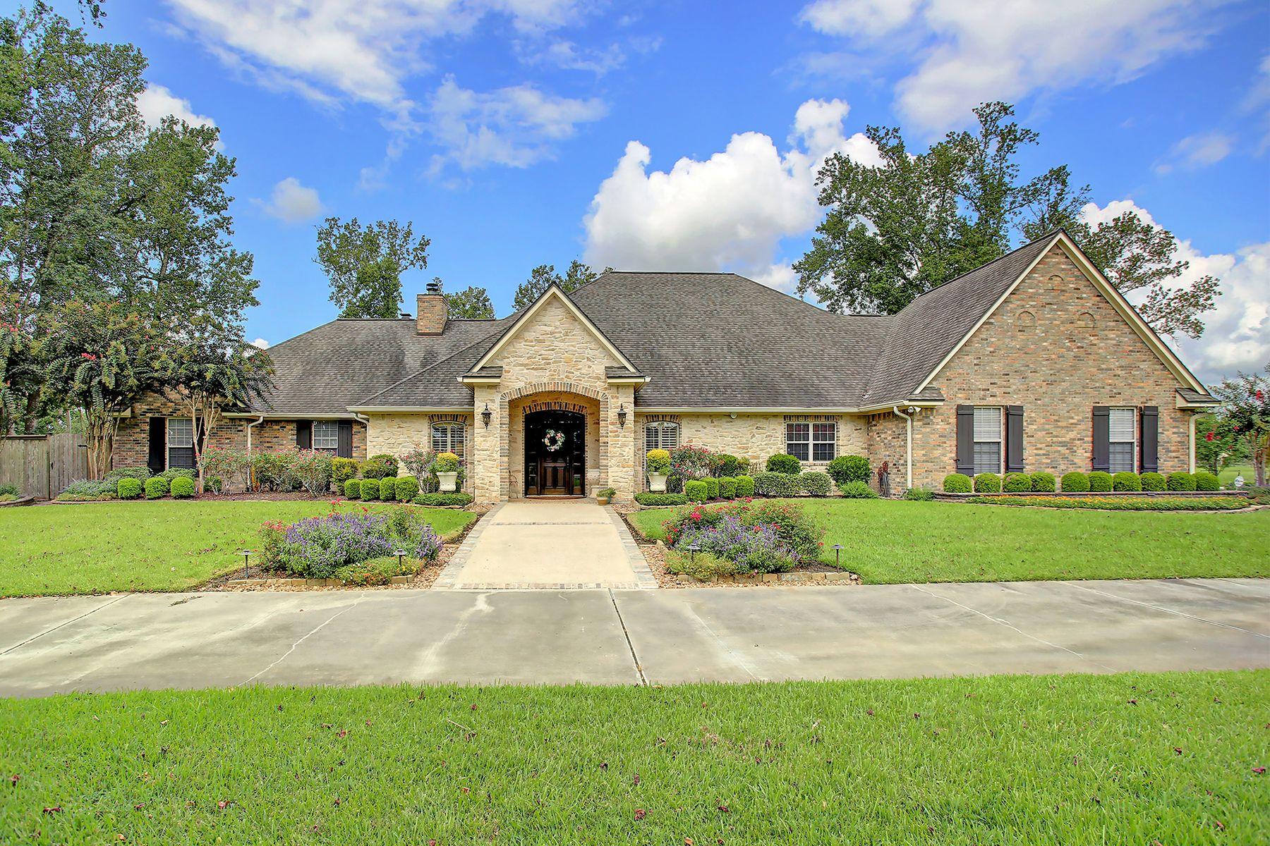 Single Family Homes 용 매매 에 Liberty, 텍사스 77575 미국