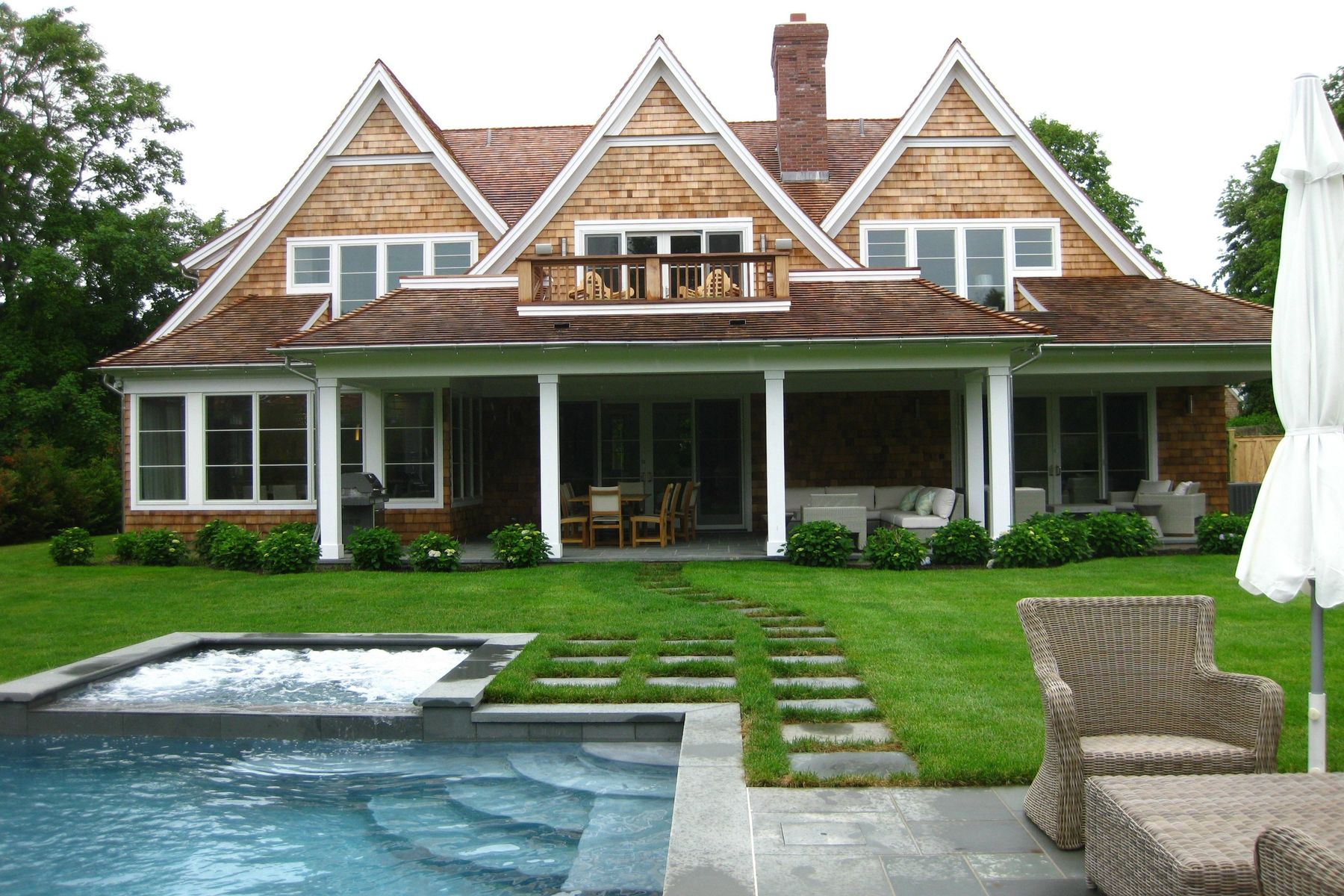 single family homes for Rent at Absolutely Gorgeous 51 Miankomka Amagansett, New York 11930 United States