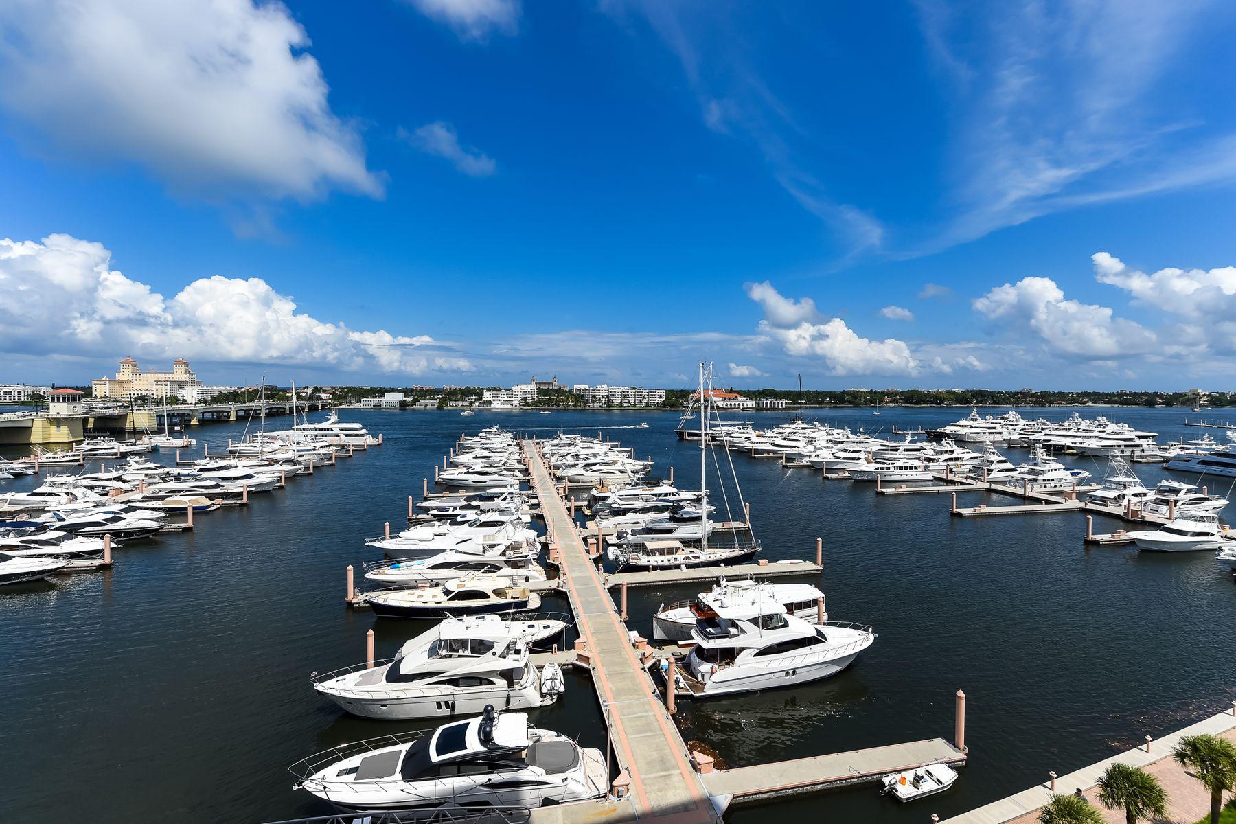 Condominiums pour l Vente à 400 N Flagler Drive - Waterview Towers 400 N Flagler Dr Apt 1005 West Palm Beach, Floride 33401 États-Unis