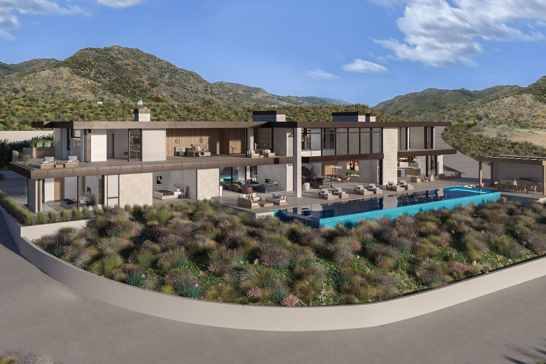 Additional photo for property listing at Ultra High End Development Opportunity 3093 Sweetwater Mesa Rd. Malibu, California 90265 Estados Unidos