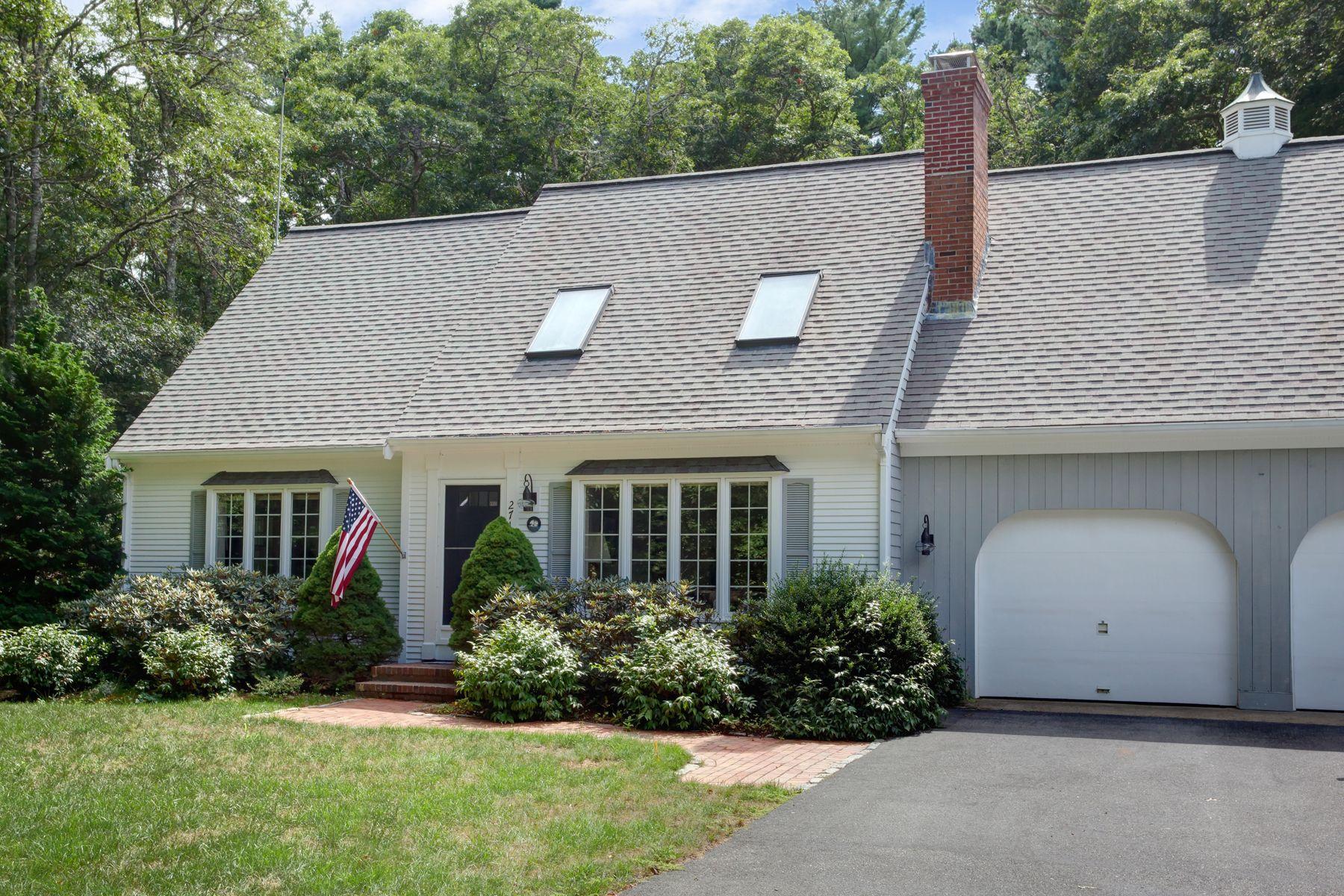 Single Family Homes 为 销售 在 271 Olde Homestead Drive Marstons Mills, 马萨诸塞州 02648 美国