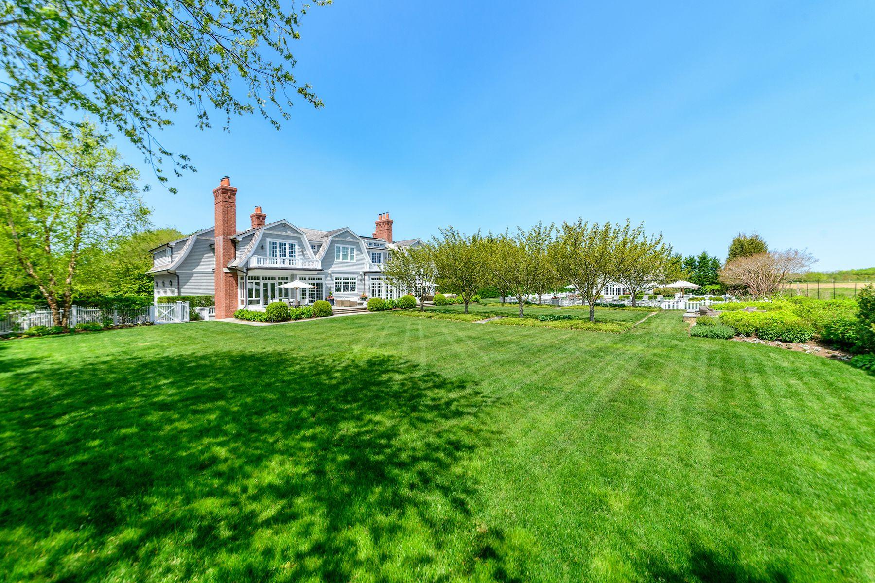 Single Family Homes för Försäljning vid Water Mill South Residence on Reserve 179 Davids Lane, Water Mill, New York 11976 Förenta staterna