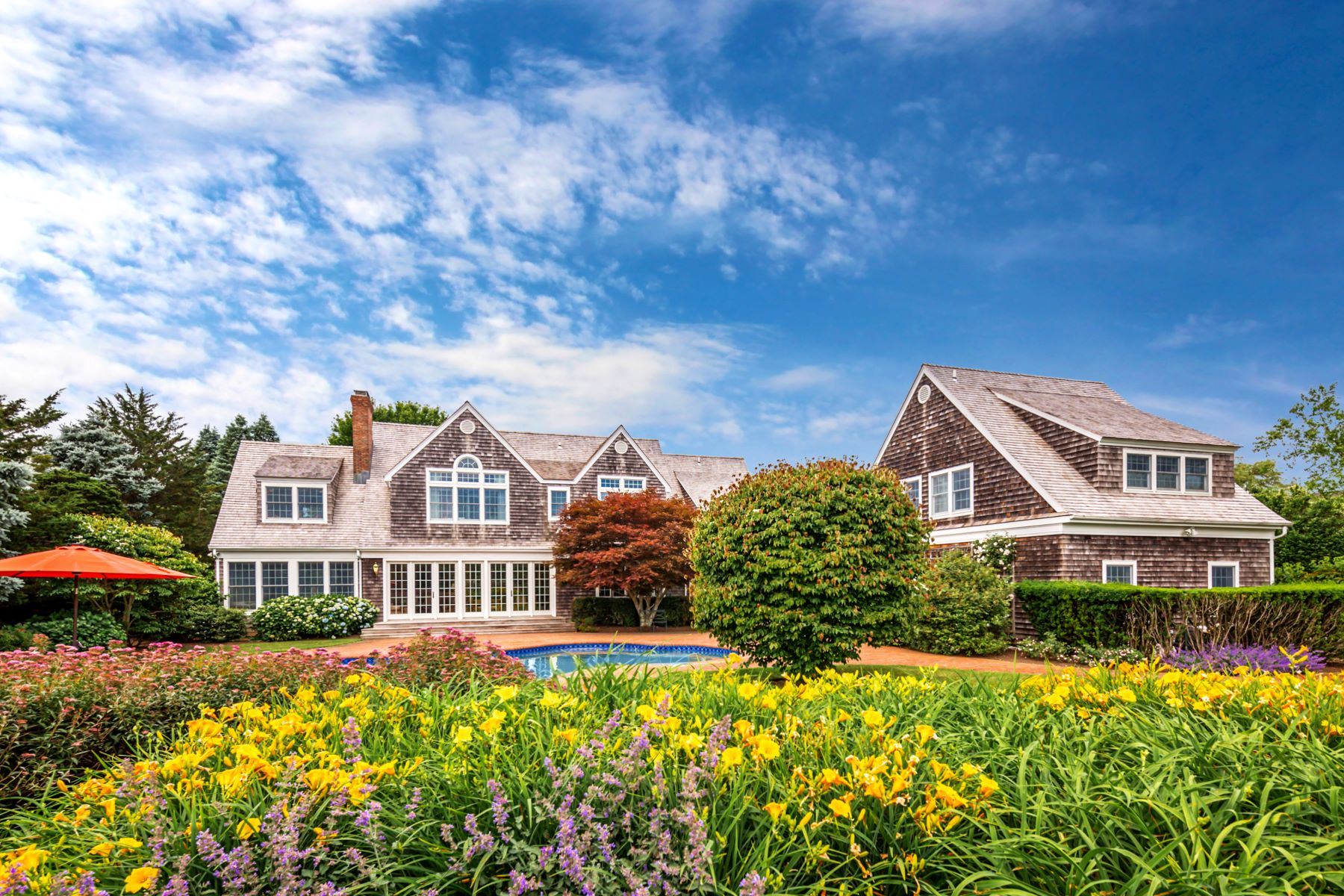 Single Family Homes for Sale at Quintessential Summer Get Away 101 Farm Court Sagaponack, New York 11962 United States