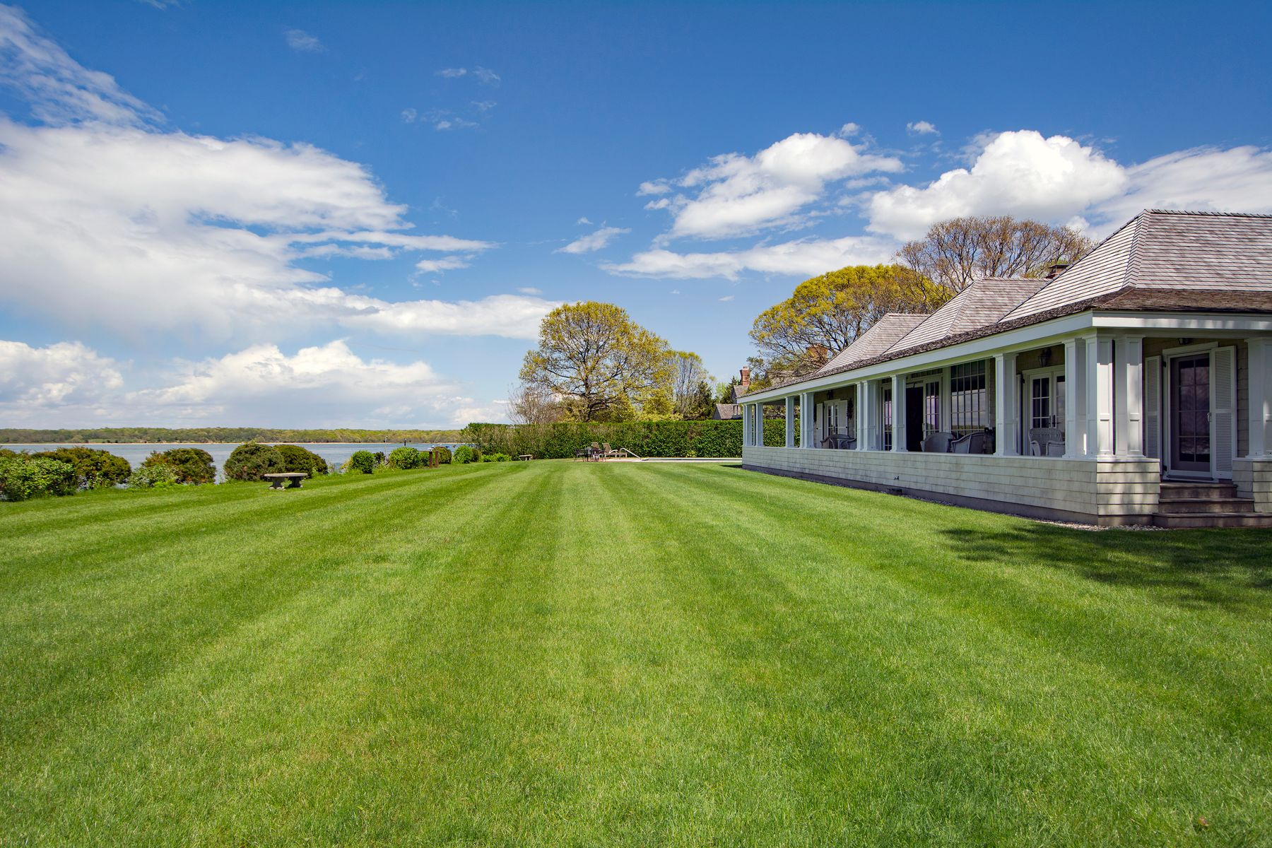 Additional photo for property listing at North Haven Bay Front With Dock 18 North Drive Sag Harbor, New York 11963 United States