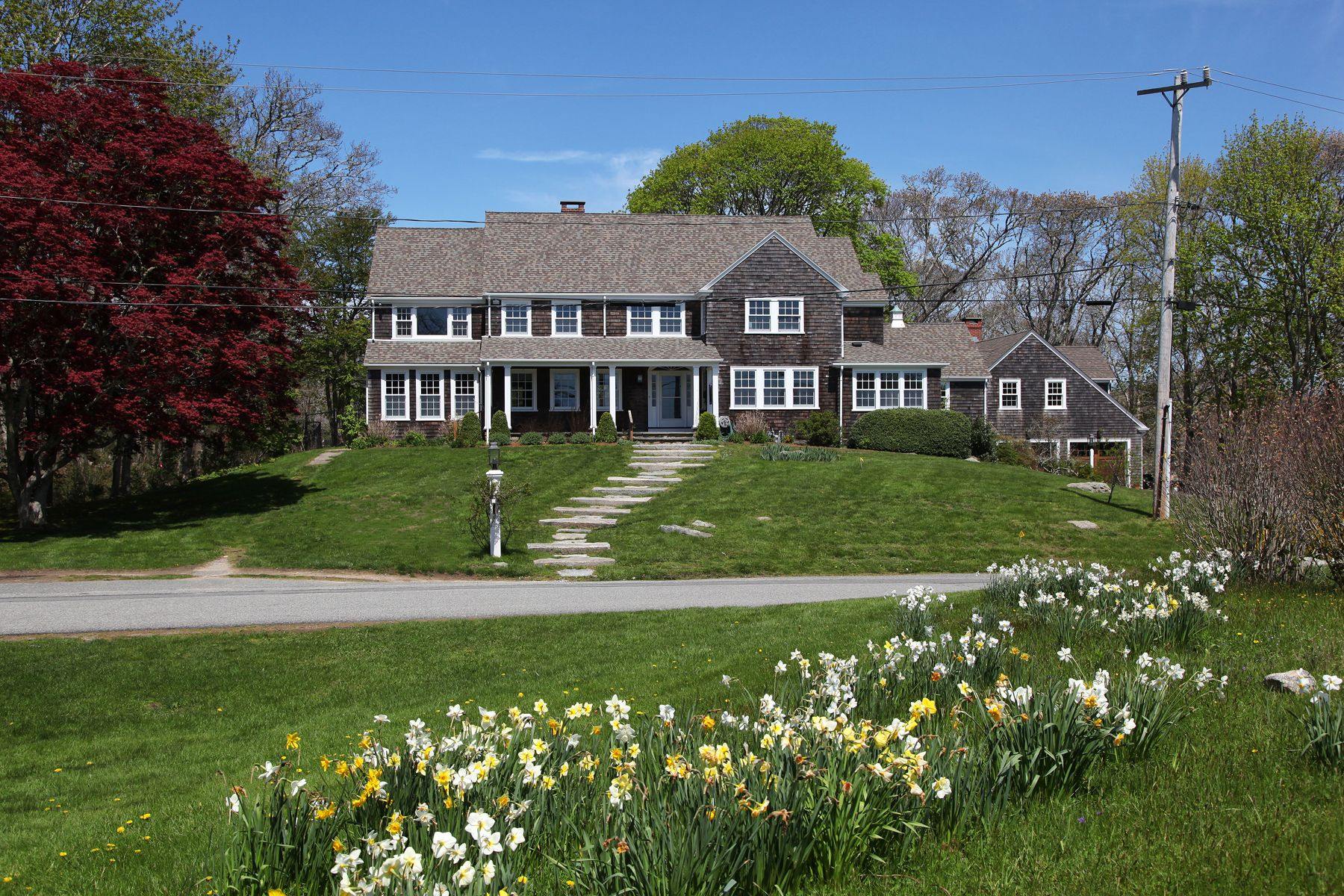 """Single Family Home for Active at """"The Moors"""" Shingle Style Estate 107 Moorland Road Falmouth, Massachusetts 02540 United States"""