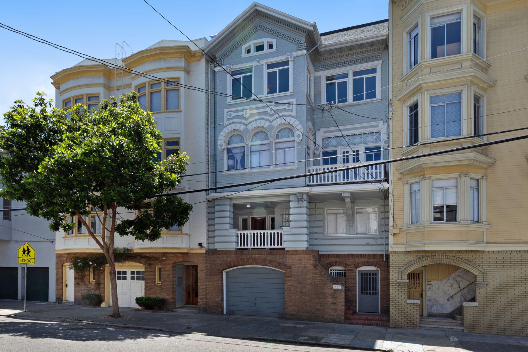 Multi-Family Homes por un Venta en 2339 Jones St San Francisco, California 94133 Estados Unidos